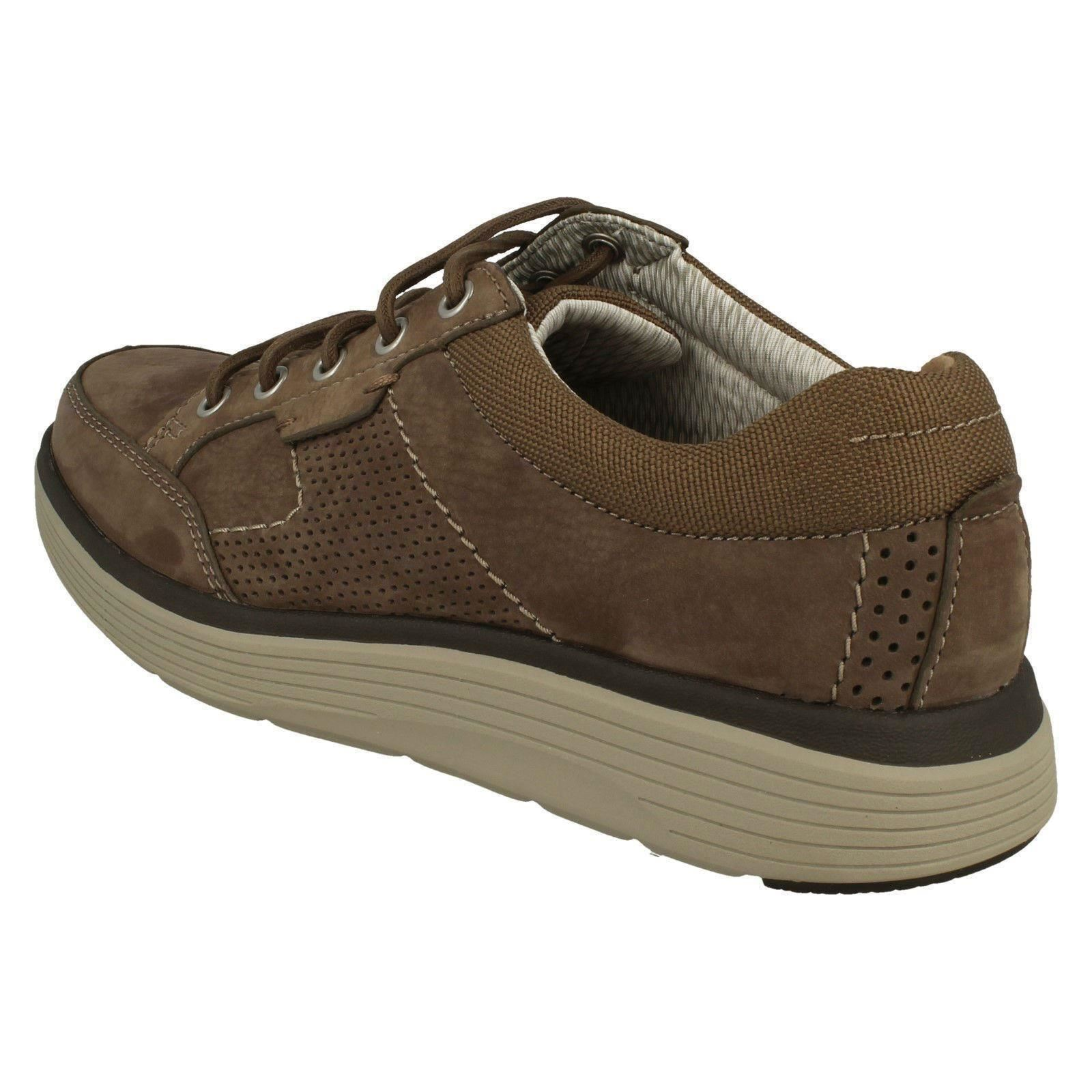 Nubuck By Shoes Men's Casual Lace Abode Up Unstructured Clarks Olive StyleUn H9I2eWEDbY