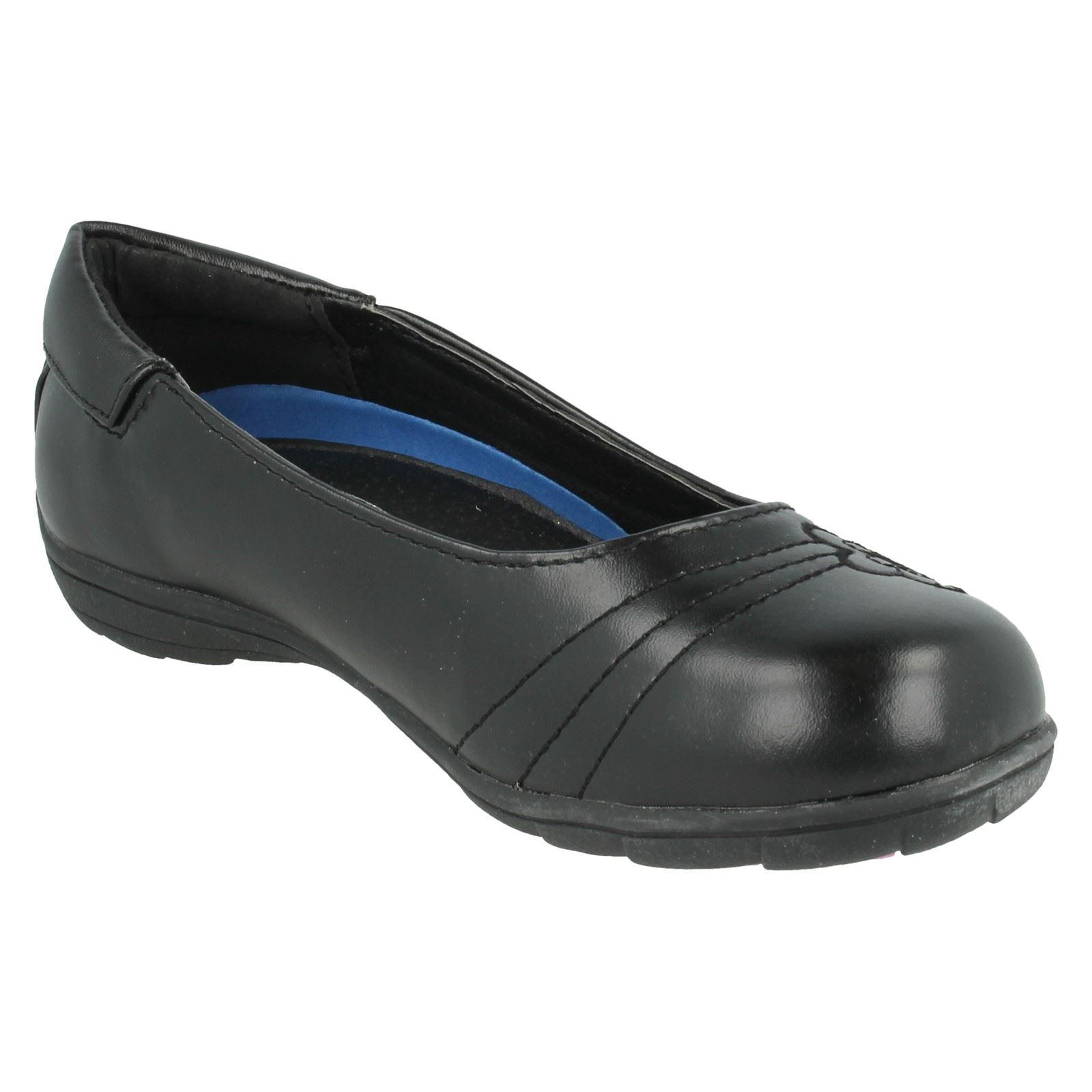 Niñas Punto en Plano Informal Zapatos Etiqueta-H2377