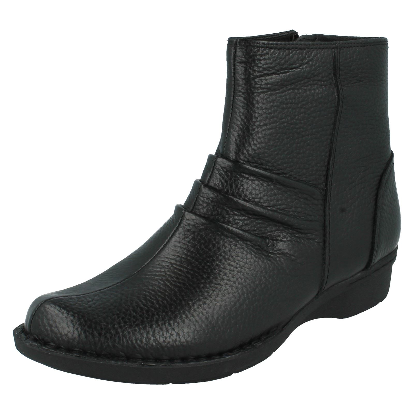 Black Ankle Ladies Leather Style Money Boots The Clarks Whistle ACwqg