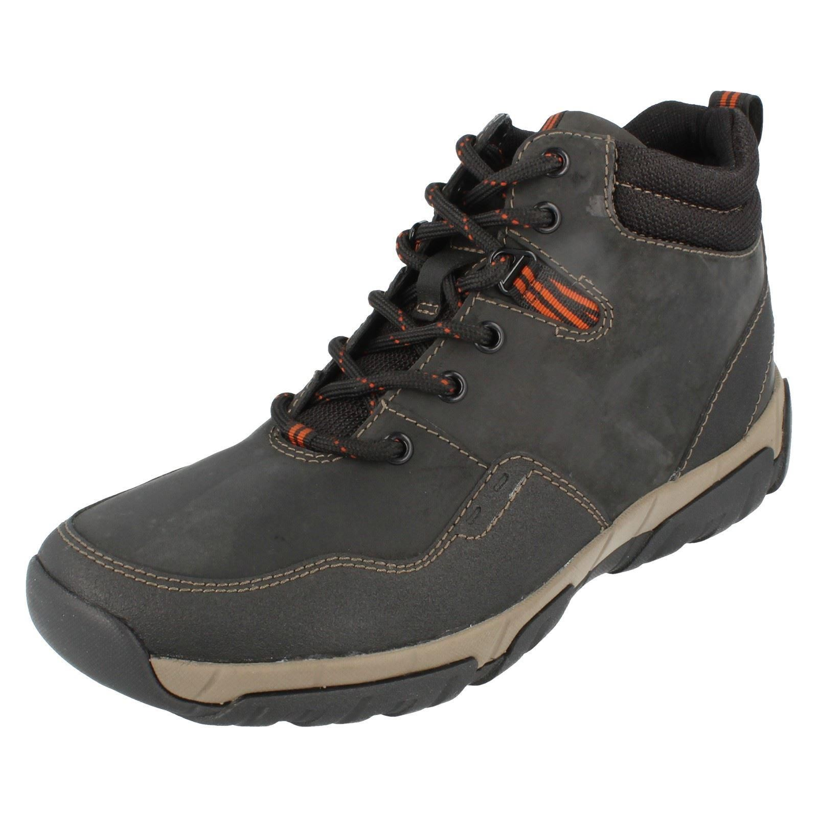 Mens Clarks Waterproof Boots The Style Walbeck Top ~ N