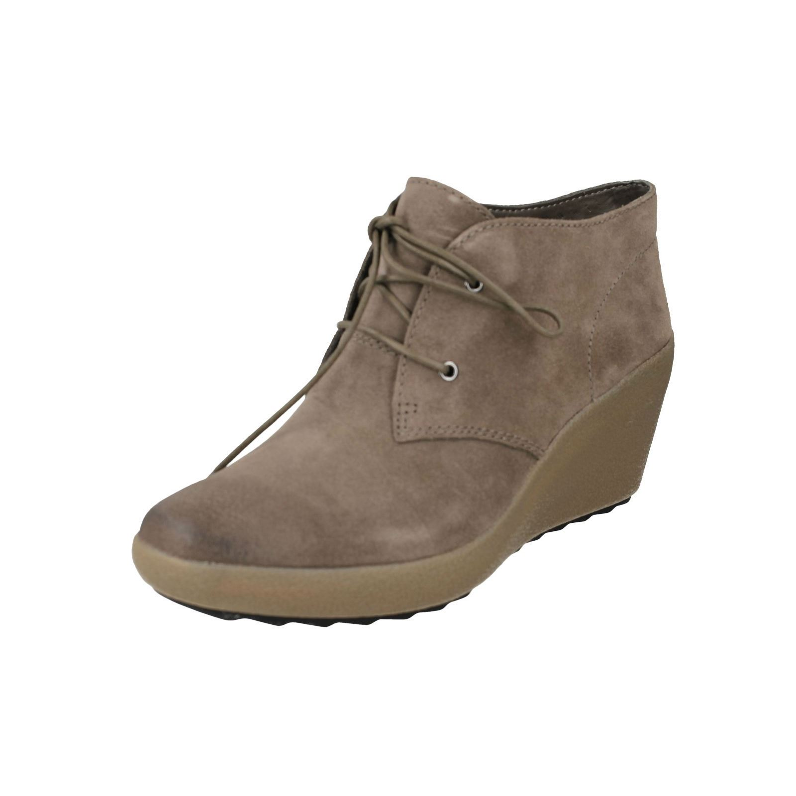 clarks wedge boots