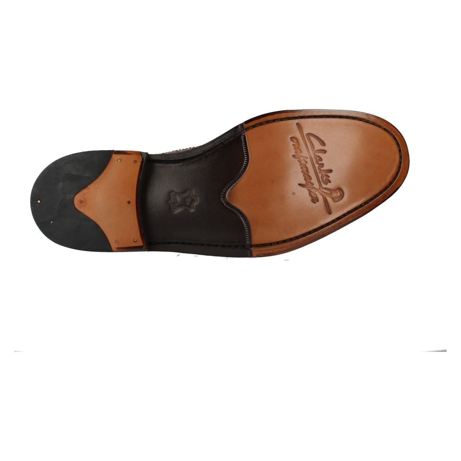 Men's Clarks Leder Stiefel Label Edward Lord