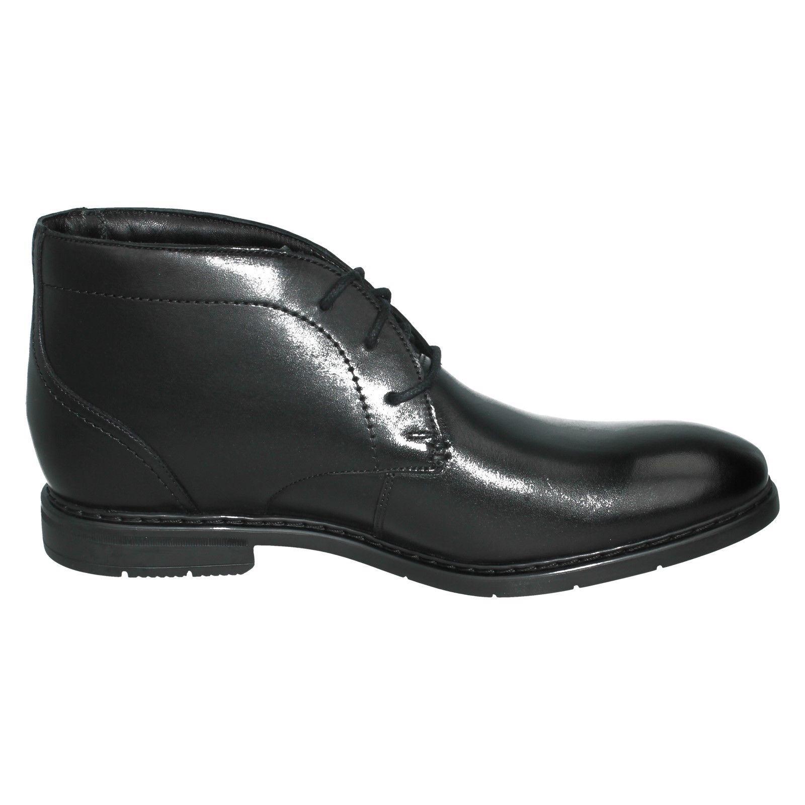Hombre Clarks Cuero Inteligente estilo-Banbury Botas al Tobillo mediados del estilo-Banbury Inteligente 10e802