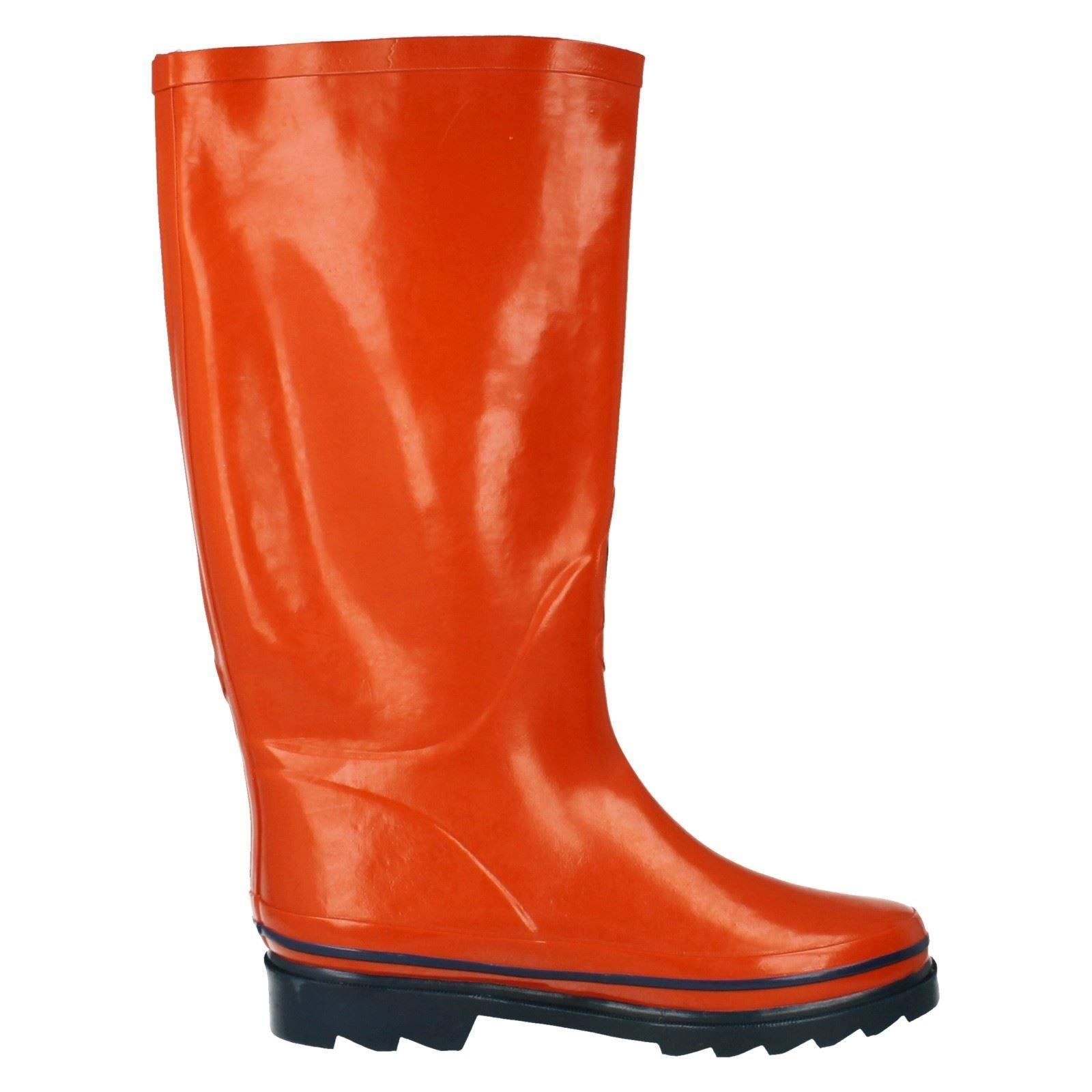 Ladies Spot On Wellington Boots Style - X1028