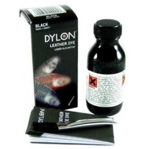 Dylon Tinte Zapato De Cuero Con Pincel Aplicador 50ml Botella el estilo ~ K