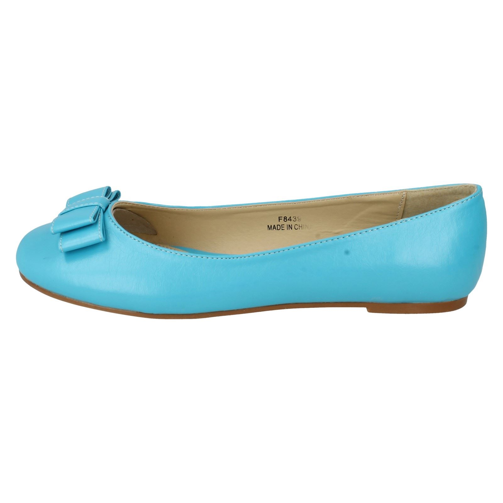 Señoras de punto en zapatos planos el estilo-f8439