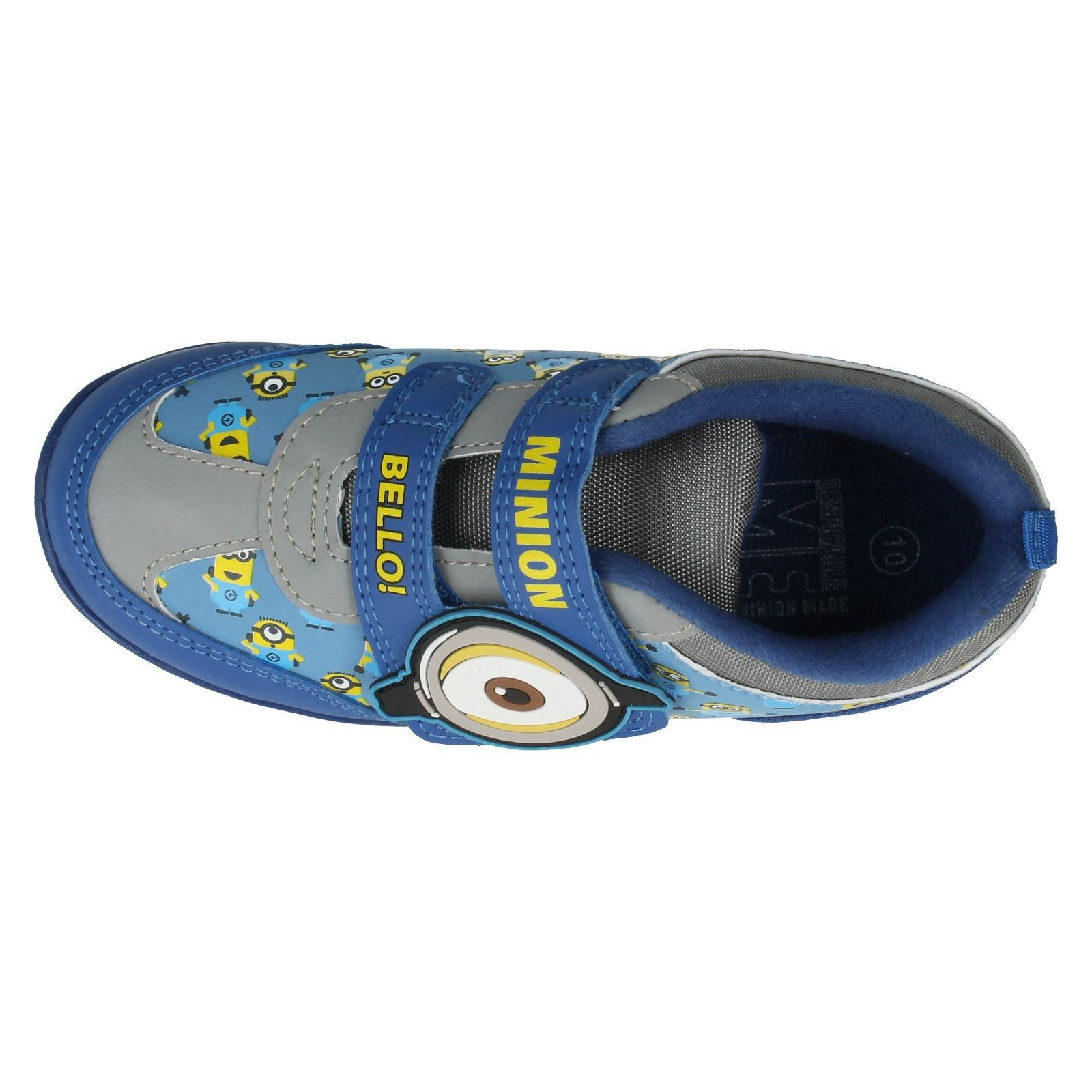 Chicos Minions Riptape-correa Zapatillas el estilo bello Runner