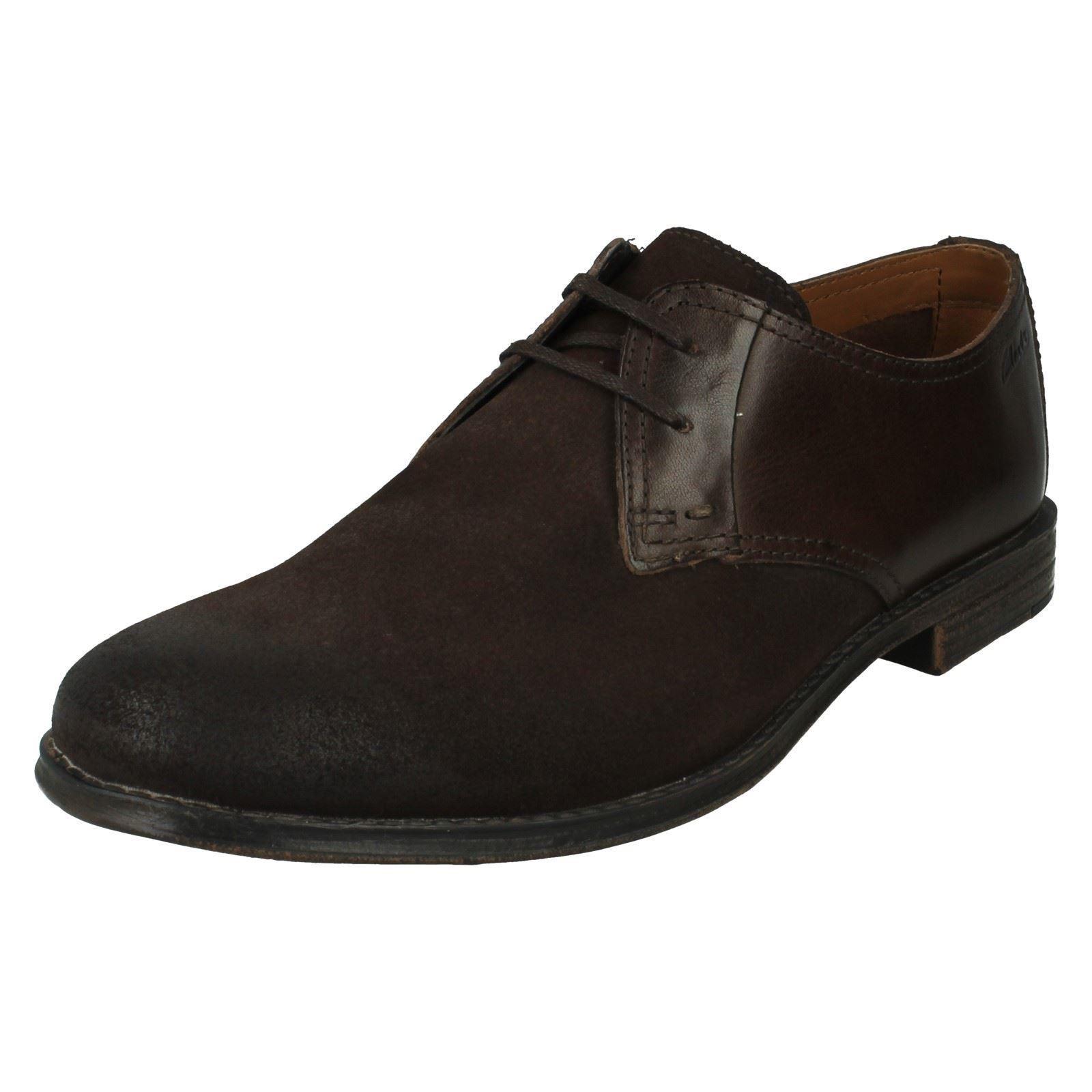 Para Hombre Clarks Casuales Zapatos Casuales Clarks Estilo-hawkley caminar 8beb32
