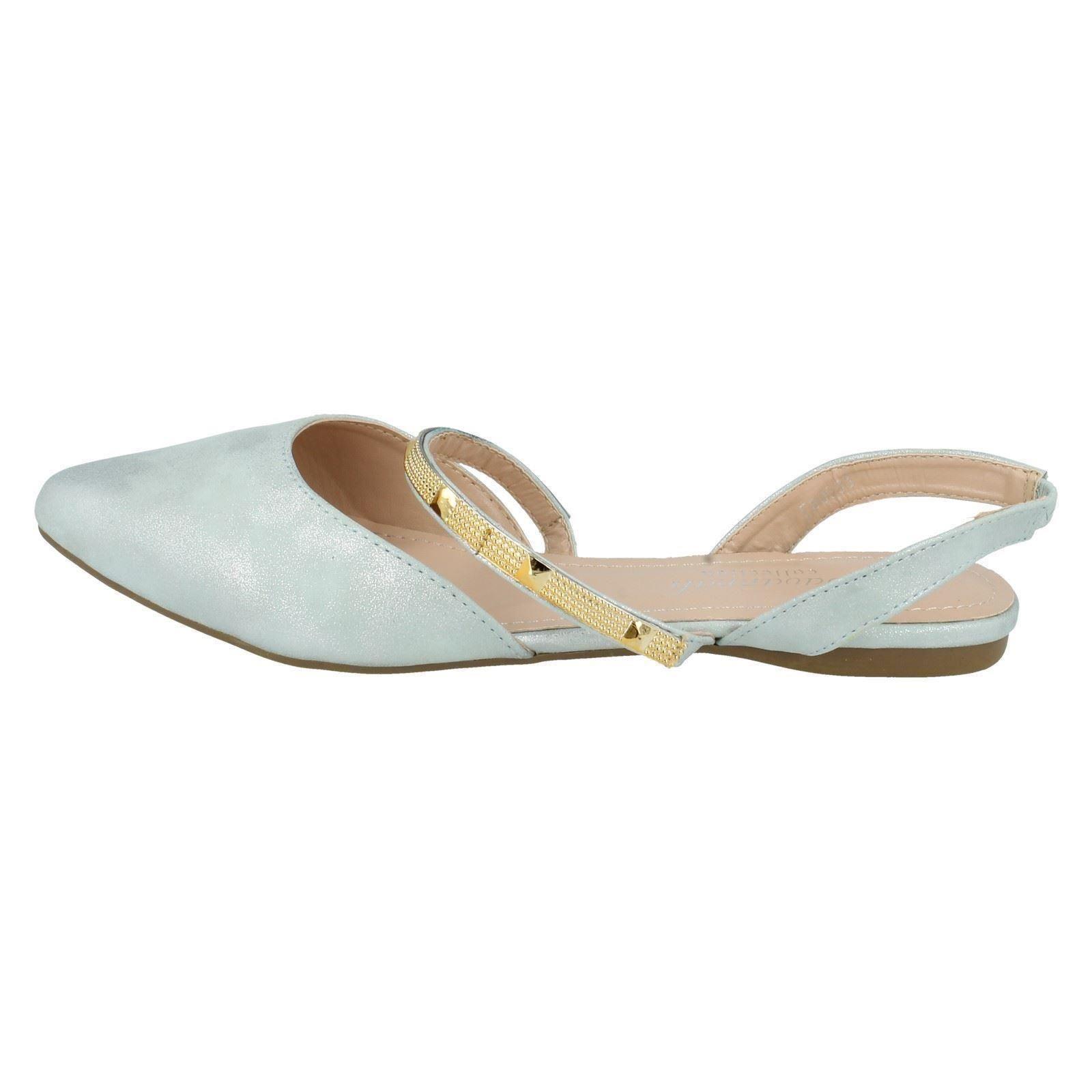 Señoras Sabana Plana Zapatos Estilo-f80053