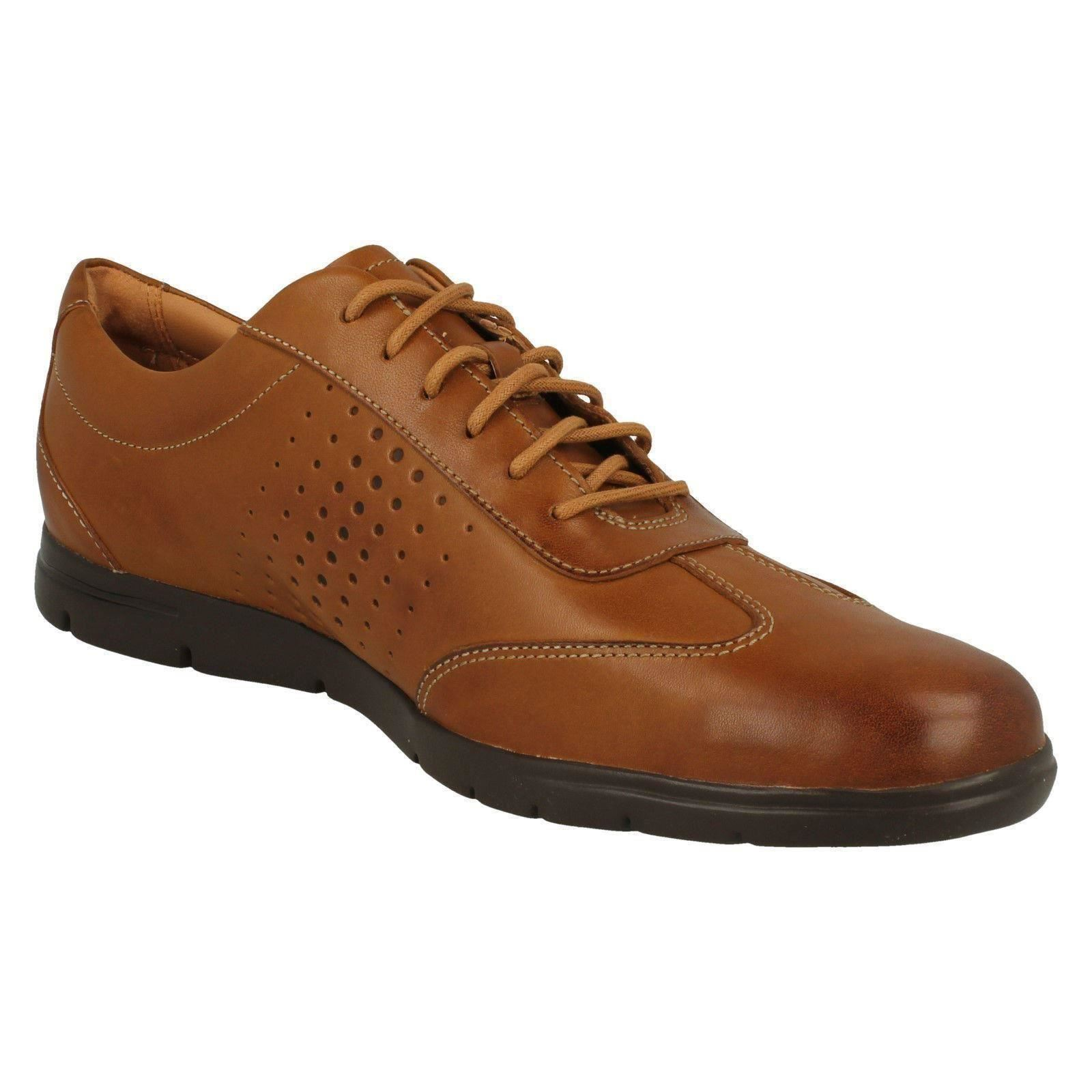 Hombres Clarks Casual Casual Casual Lightweight Lace Up zapatos Vennor Vibe 2ac42a