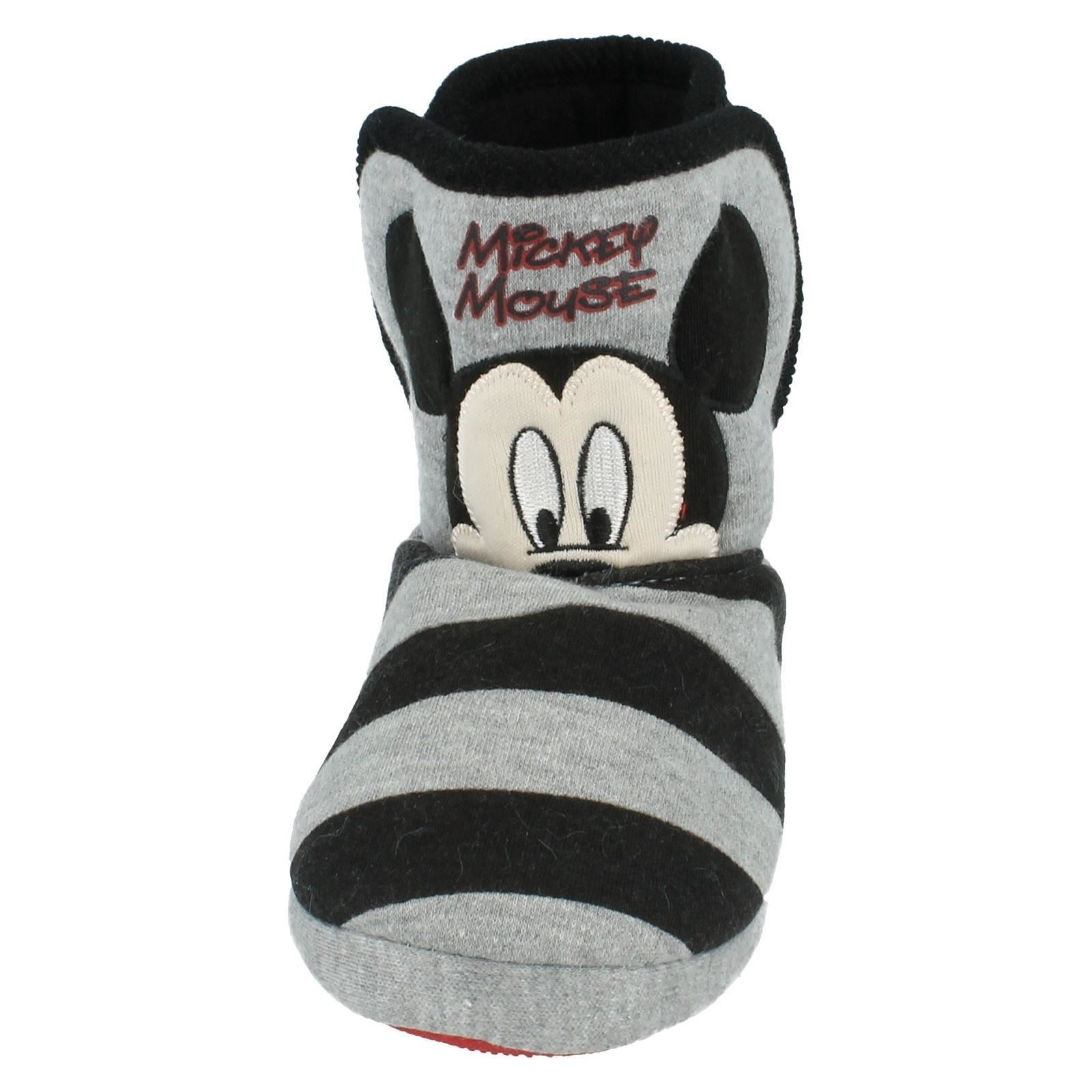 Children Mickey Mouse Slipper Boot Label Mickey Mouse