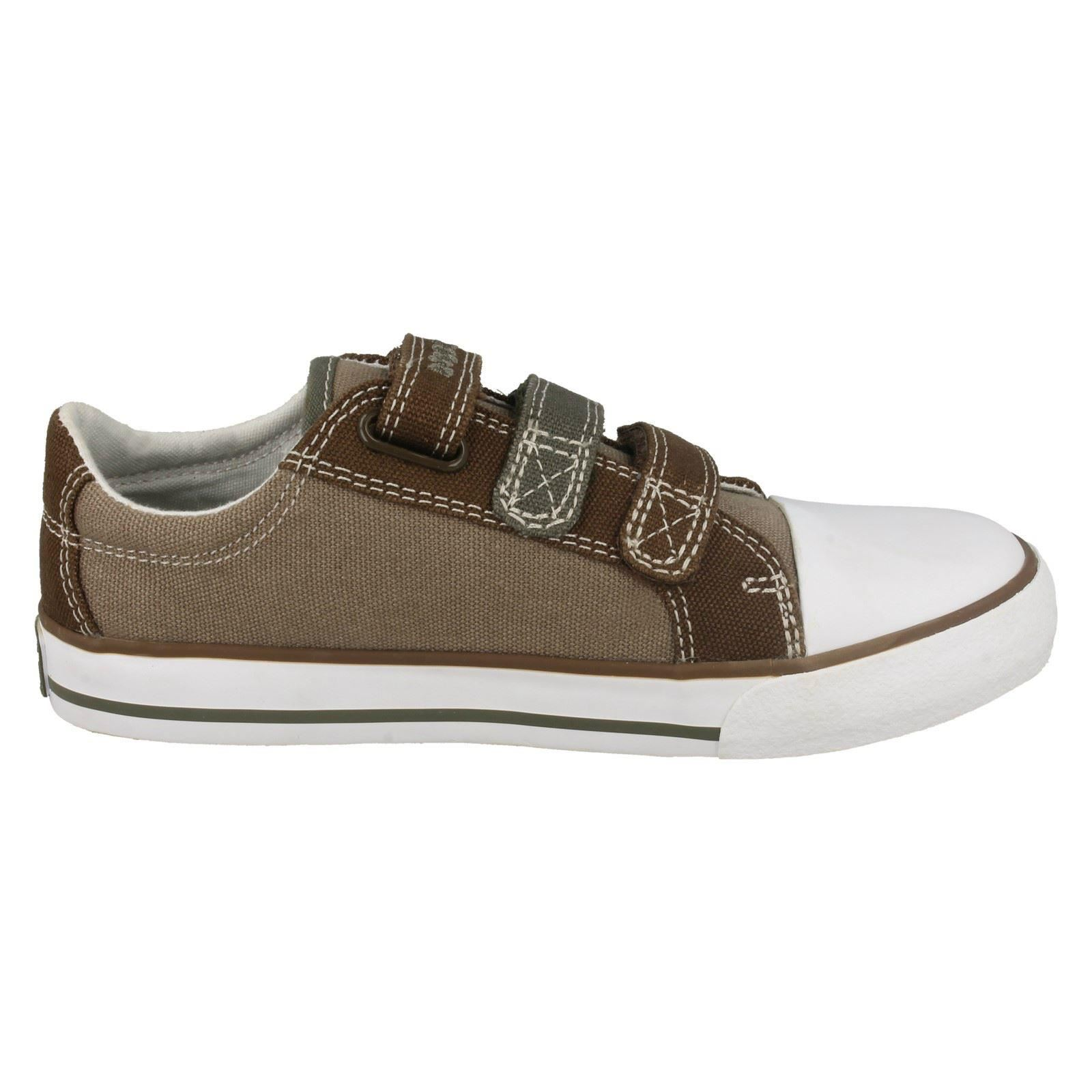 Boys Clarks 'Stompo Fun' Casual Doodle Shoes Label ~ K