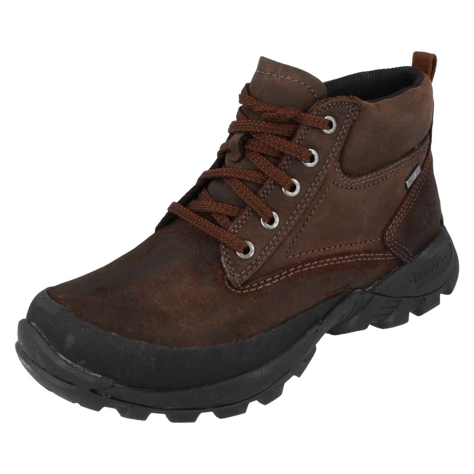 Dark Waterproof Arlberg Stivaletti da Merrell Earth stringati uomo TwcOY6q