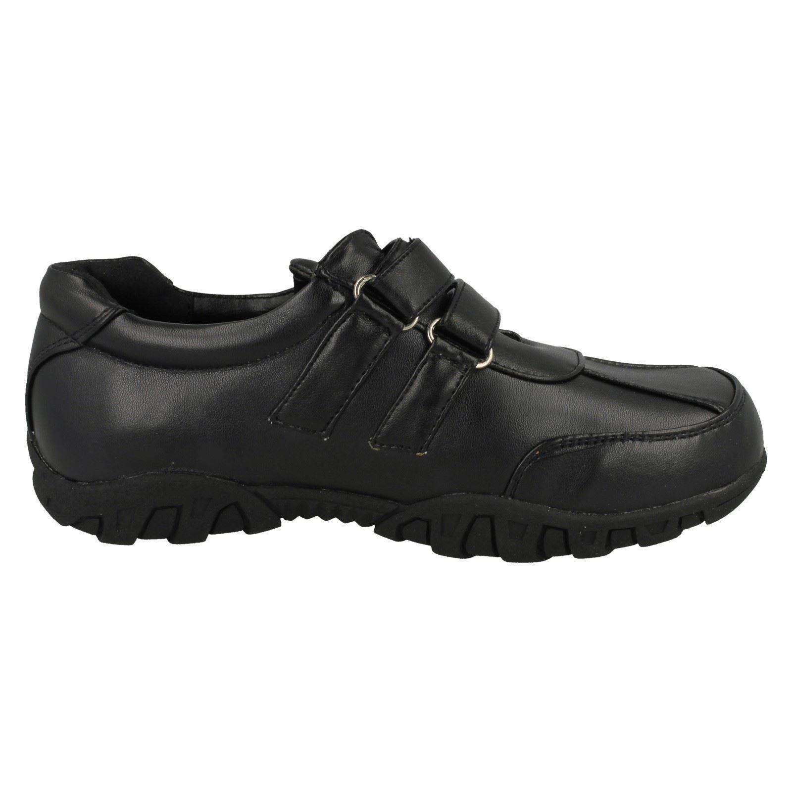 Boys Spot On N1008 Riptape Smart School Shoes ~ K