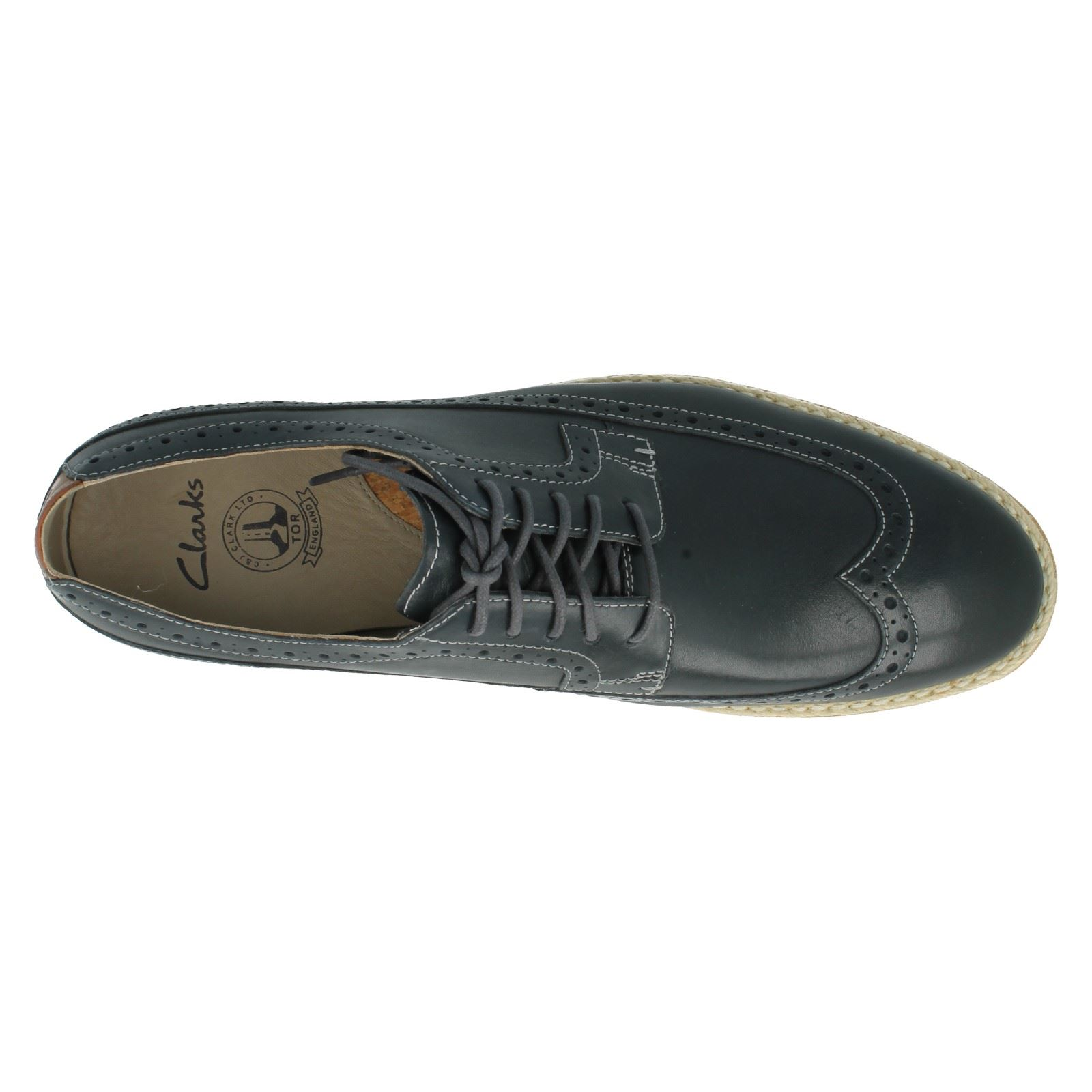 Men's Clarks Casual Lace Up Shoes The Style - Gambeson Limit