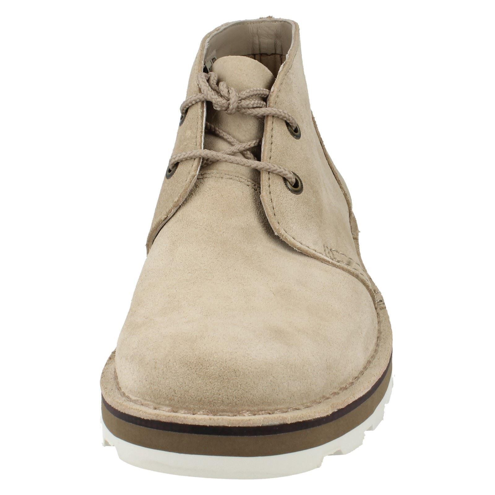 Clarks tobillo ATA de los hombres para arriba el tobillo Clarks botas Lable - Darble mediados 698afc