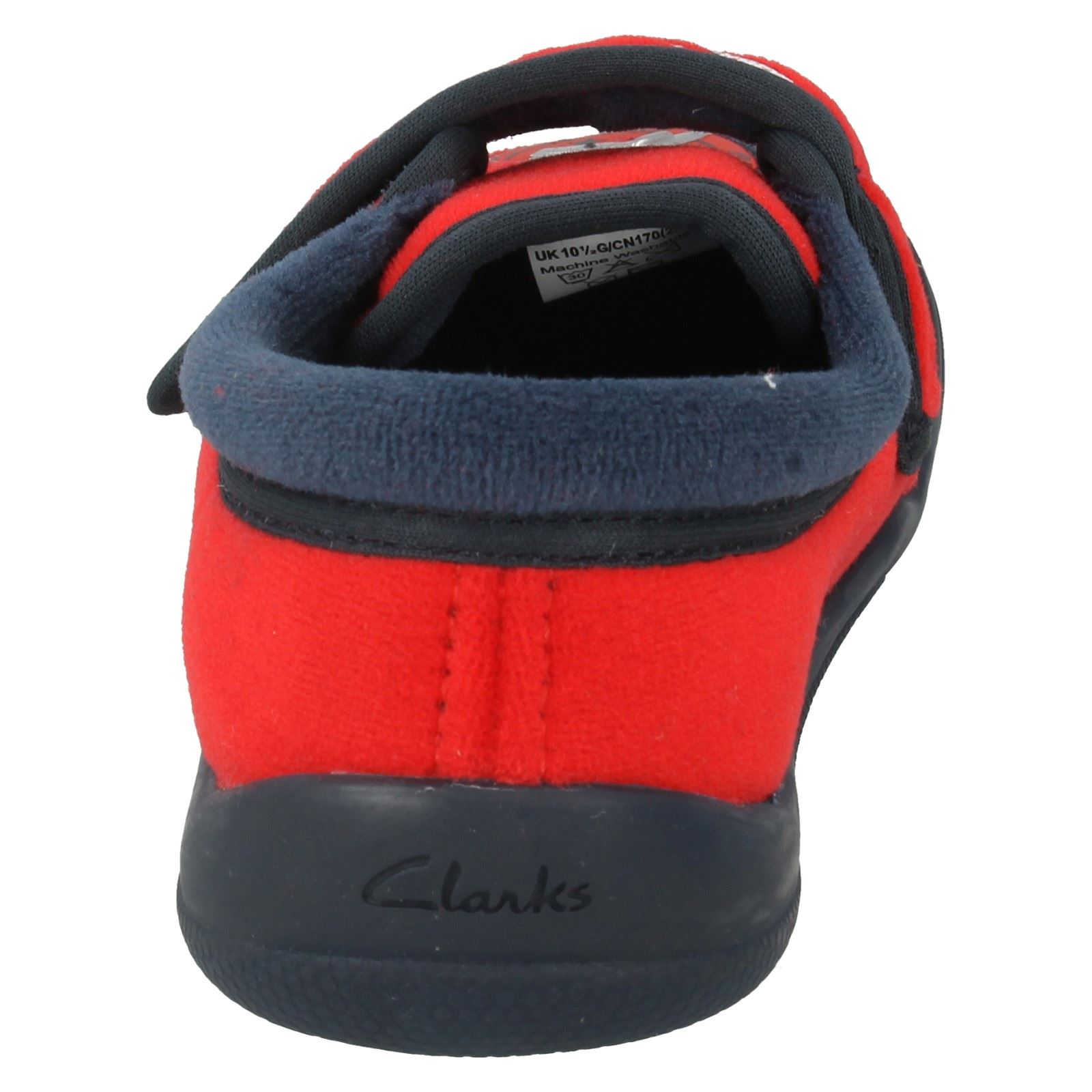 Boys Clarks Slippers Style - Cuba Edge