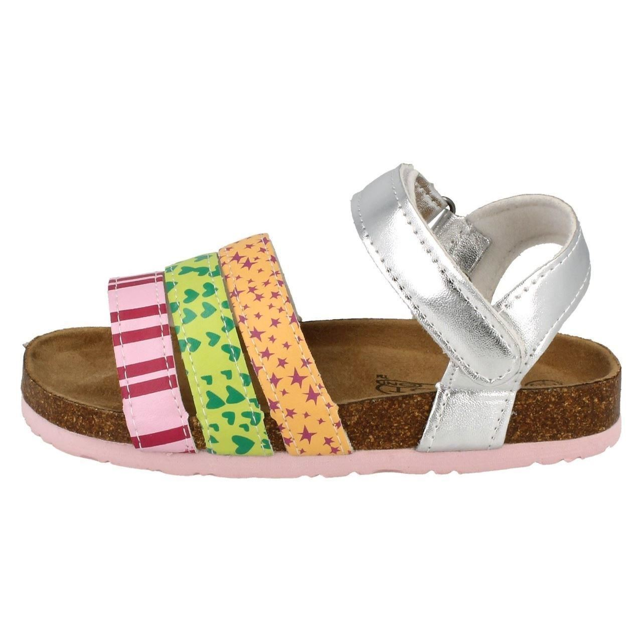 Girls Spot On H0164 Patterned Sandals The Style ~ K