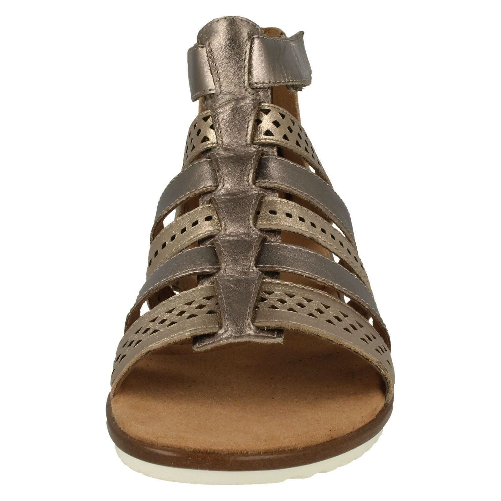 Leather Sandals Gladiator Metallic Lotus Ladies Kele Multi Clarks Bx1qWtwF
