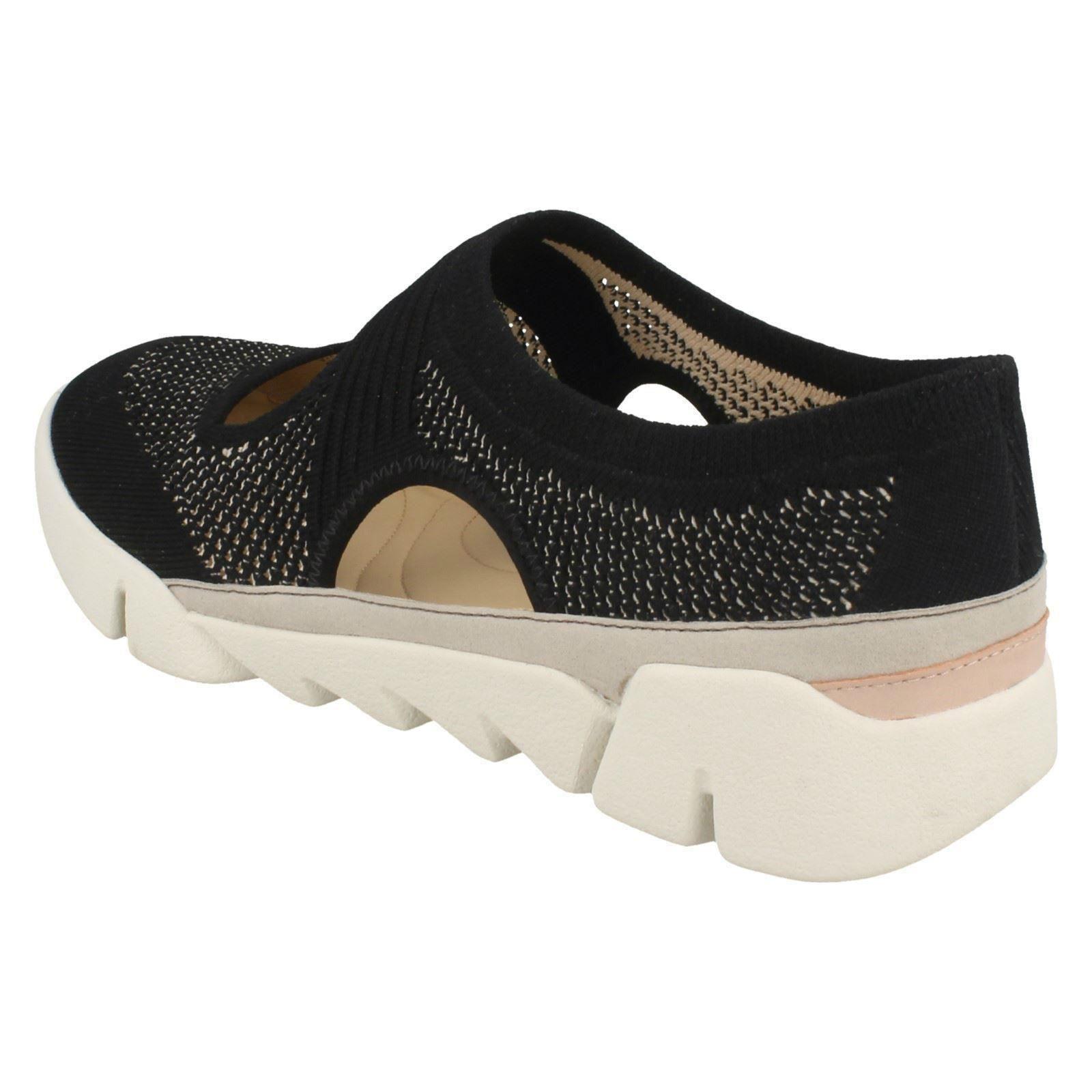 Moda barata y Descuento hermosa Descuento y por tiempo limitado Ladies Clarks Cut Out Detail Flats Shoes Tri Blossom 955d99