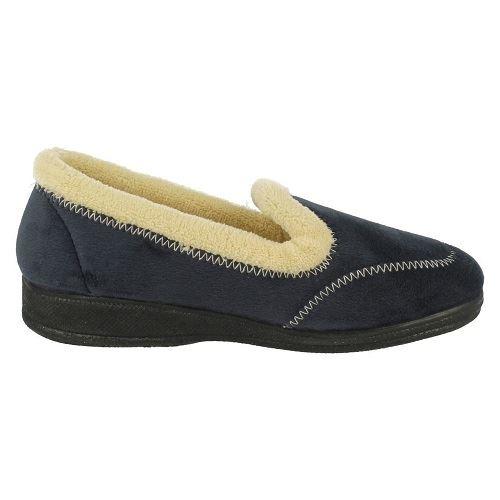 Señoras De Cuatro estaciones Slip On Cómodo Acolchado Zapatillas Kylie' ~ K