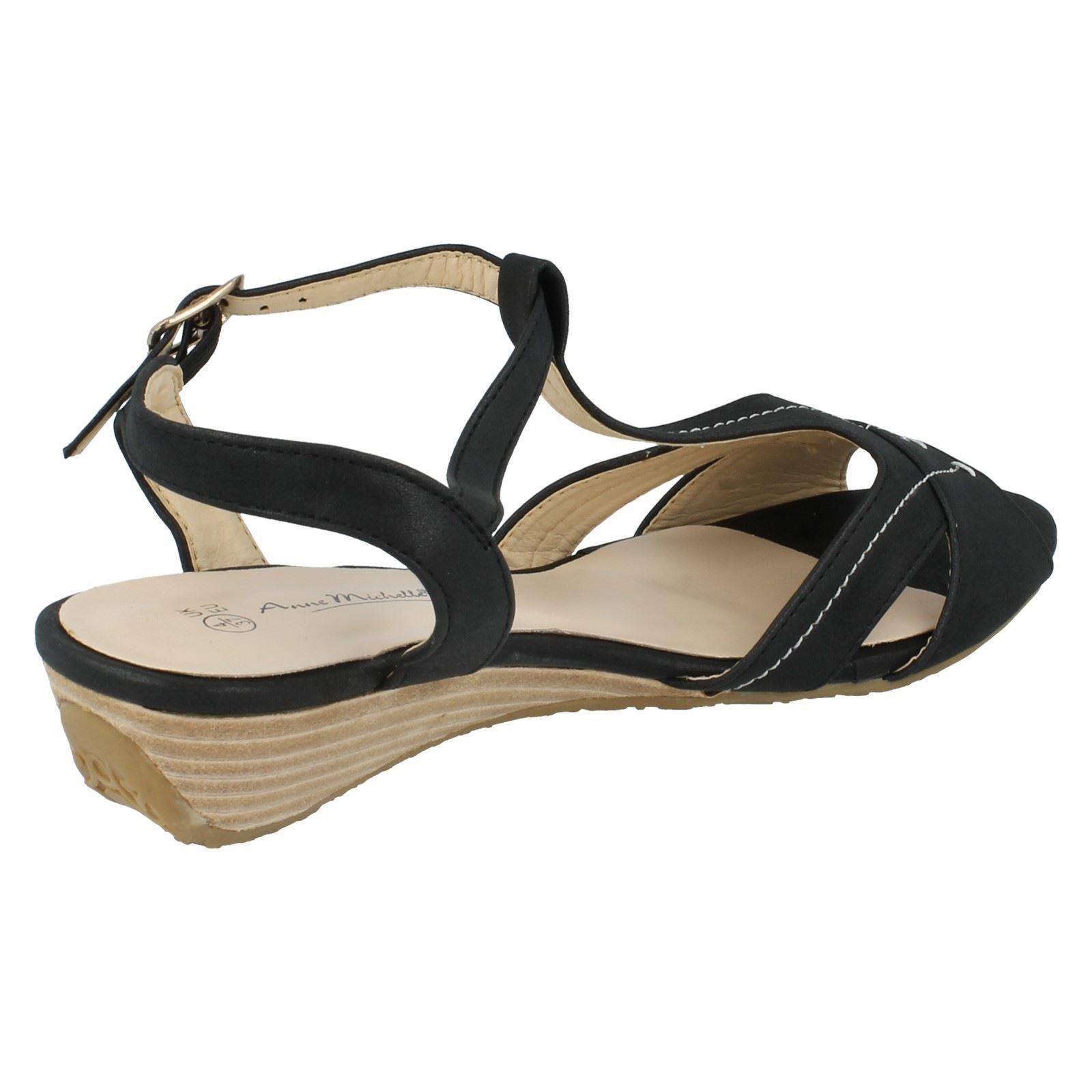 Ladies Spot On Sandals Label L3410   eBay