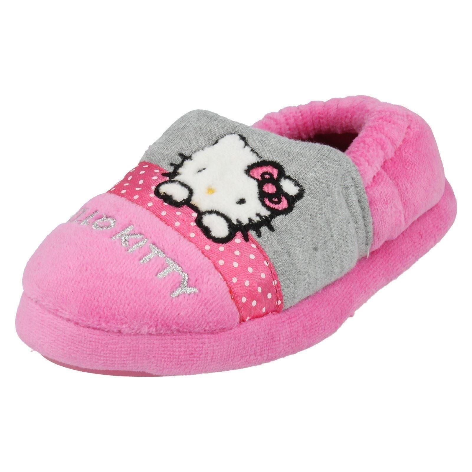 Niñas Hello kittey Zapatillas Etiqueta Persa
