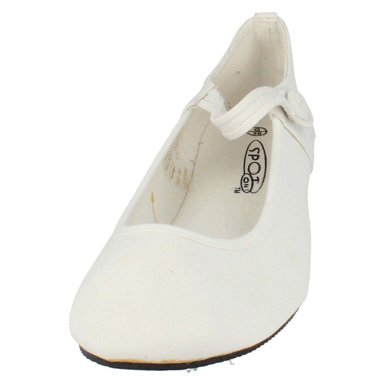 Etiqueta señoras de punto en zapatos de lona F8487 ~ N