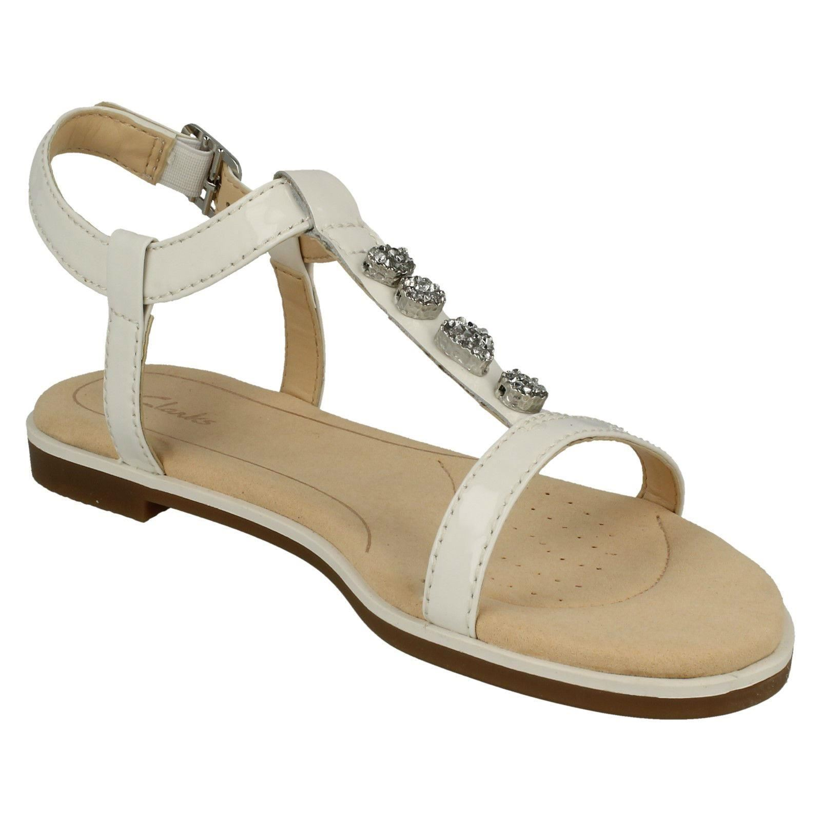 b533cd0bea266a Clarks Ladies Casual Slingback Sandals - Bay Blossom White UK 4 D. About  this product. Picture 1 of 8  Picture 2 of 8  Picture 3 of 8 ...
