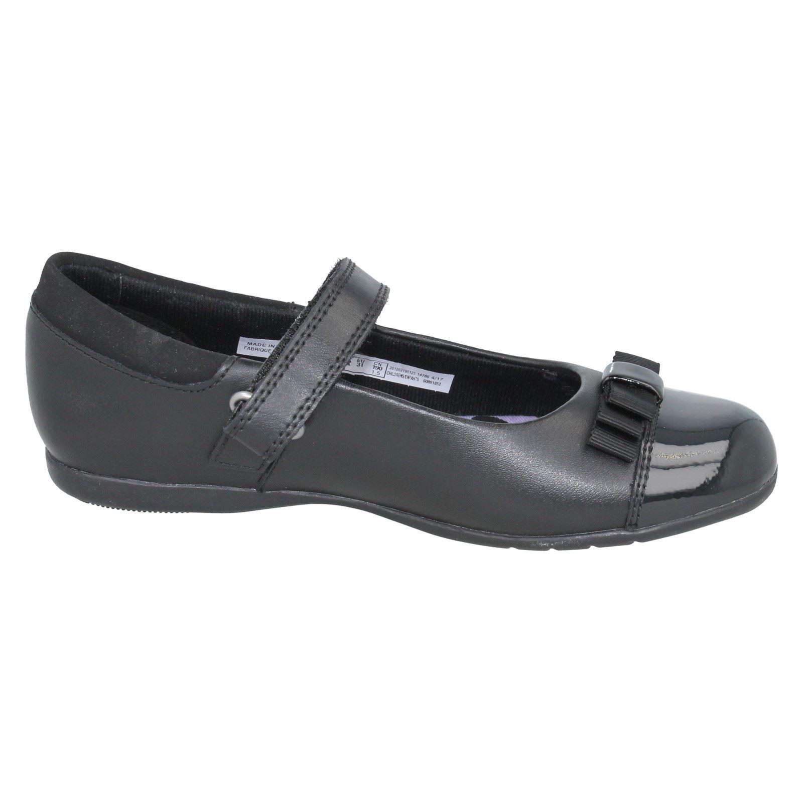 Chicas Clarks Zapatos Escolares Etiqueta-Dance Shout