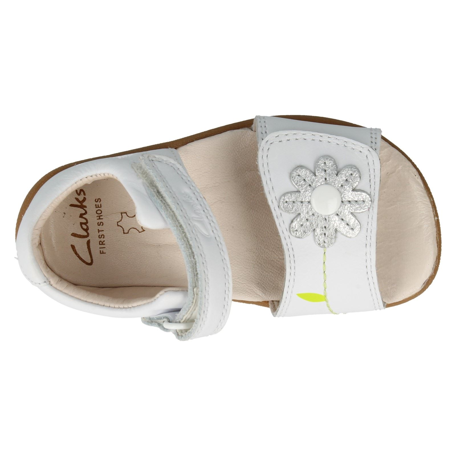 Girls Clarks Sandals Style- Softly Eve Fst