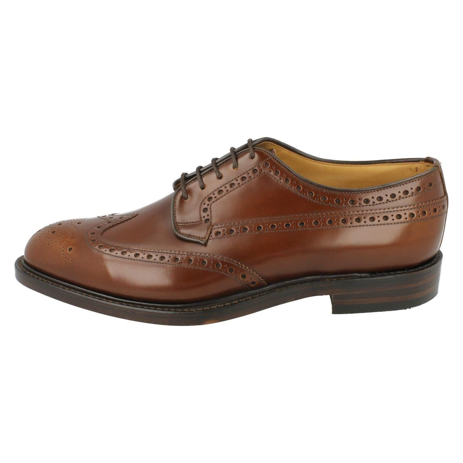 Uomo Loake Formal Formal Formal Brogue Schuhes The Style - Braemar 2c1772