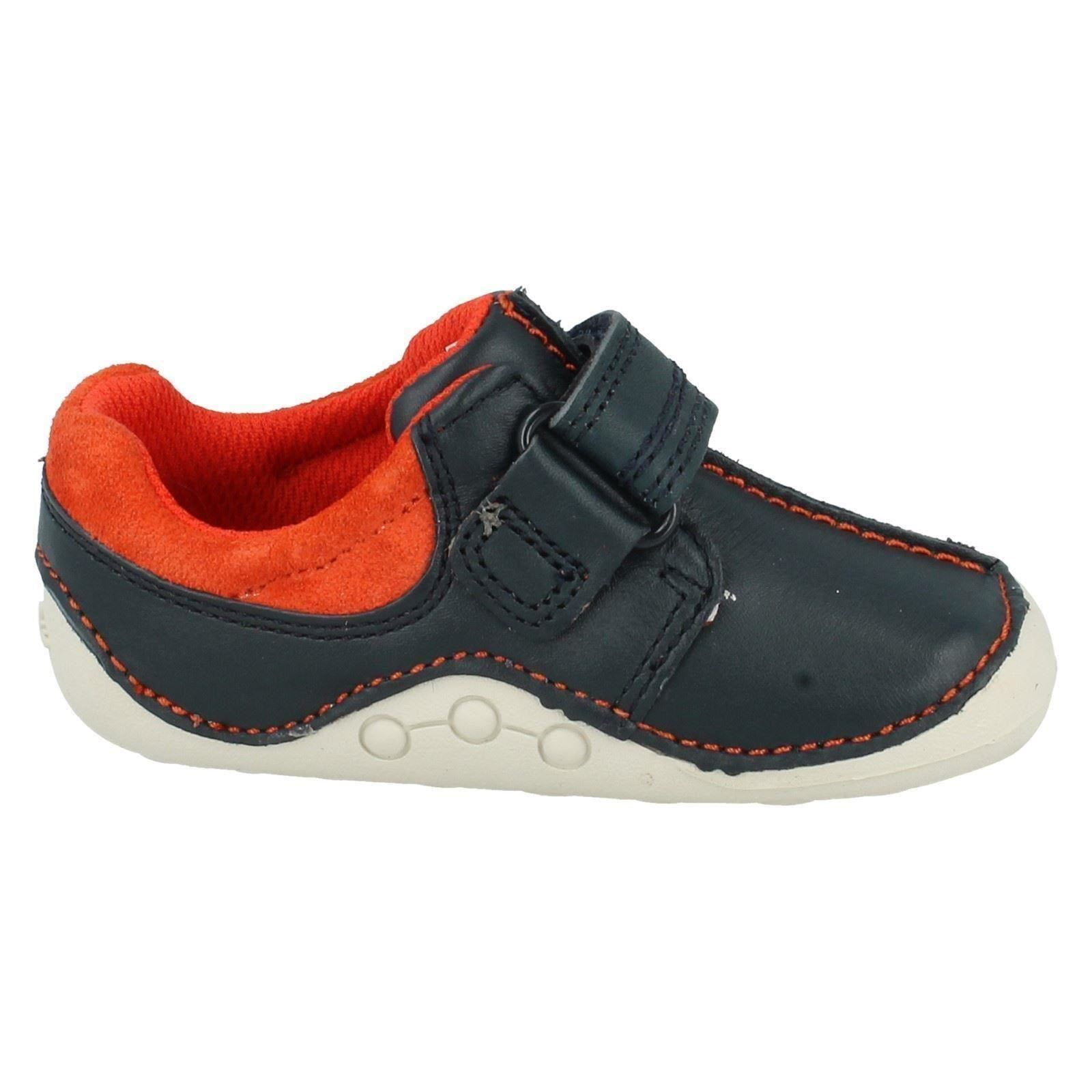 Boys Clarks First Shoes Style - Tiny Joe