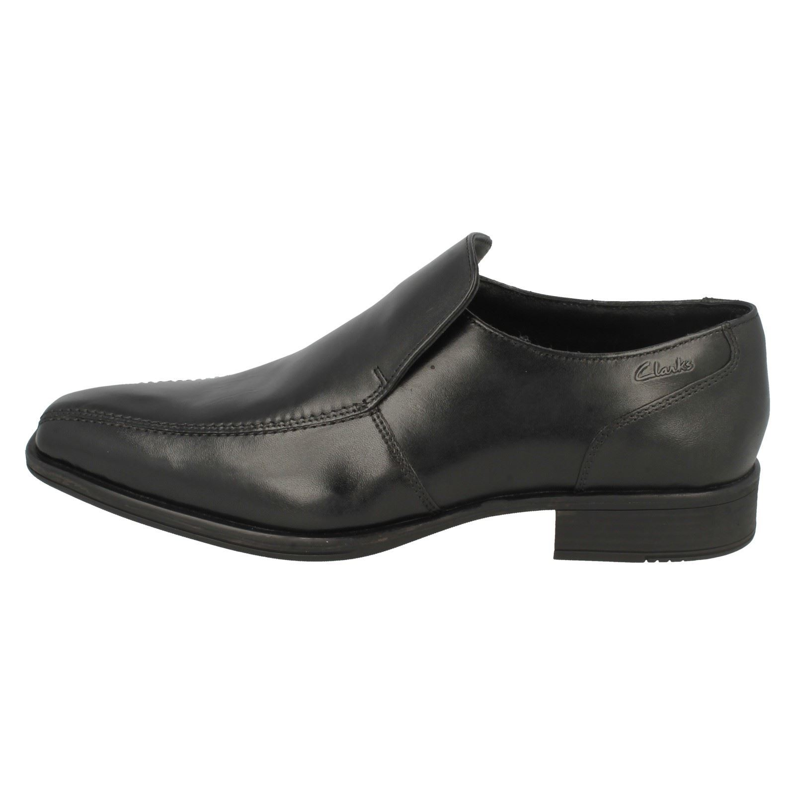 Slip Uomo Clarks Formal Slip  On Schuhes Flenk Step 763a7c