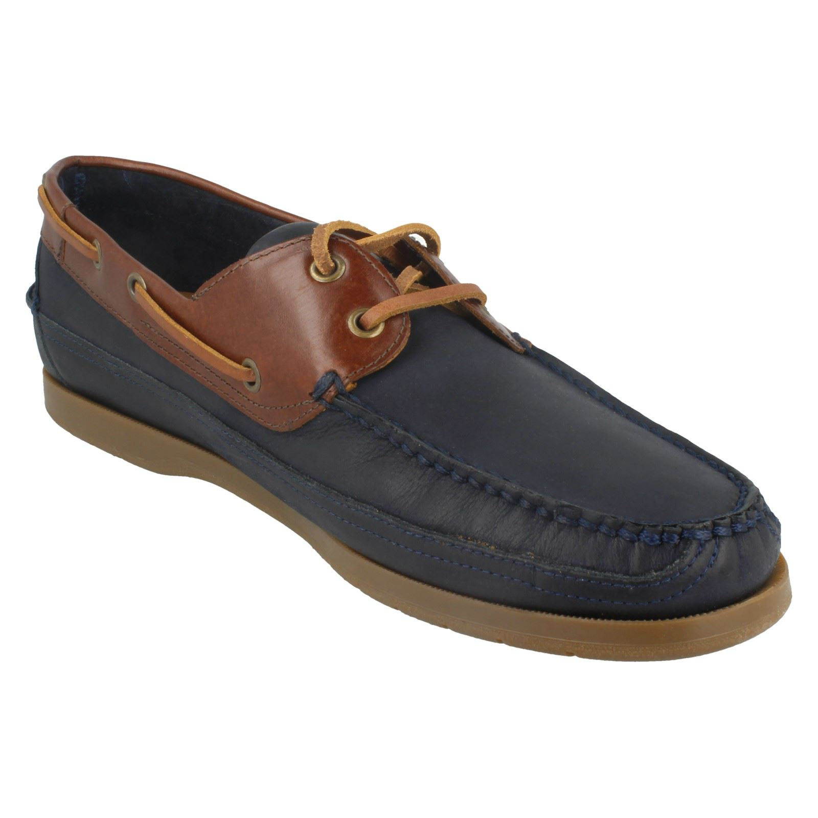 Hombre Hombre Hombre Anatomic Style Viana Lace Up Boat Zapatos 4a43be