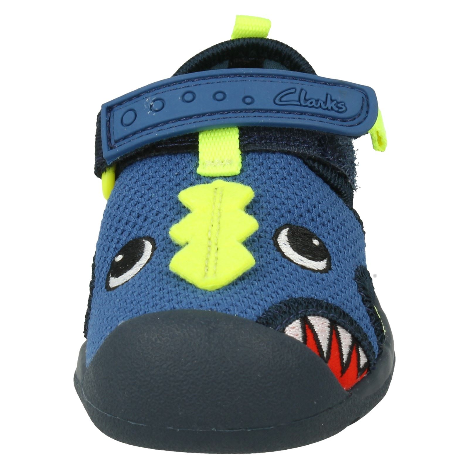 Boys Clarks Doodles First Shoes The Style - Beach Curl