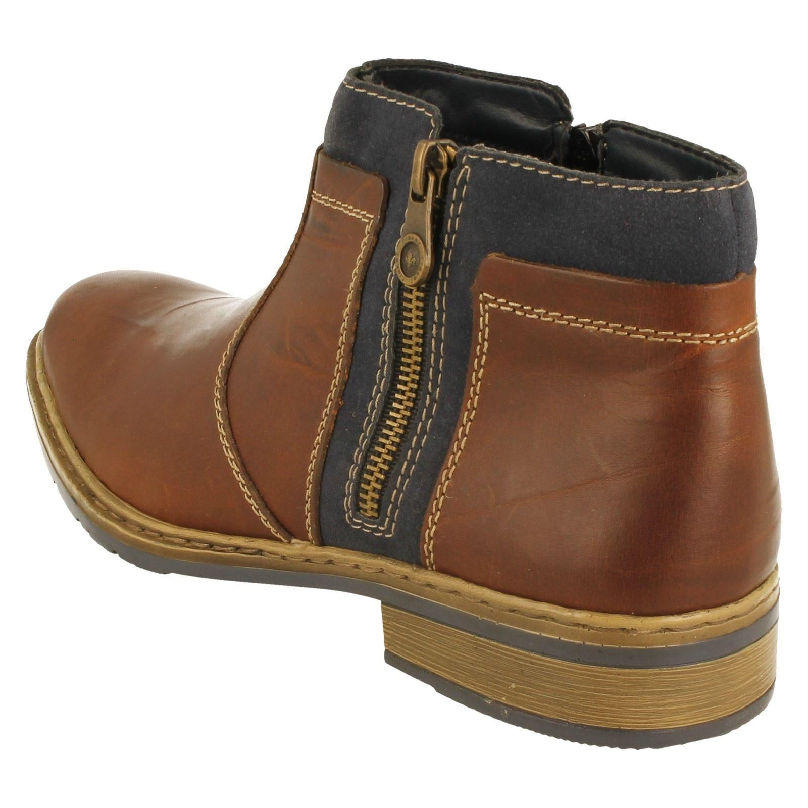 Mens Rieker Boots Style Style Style 30853-W 1b6f3a