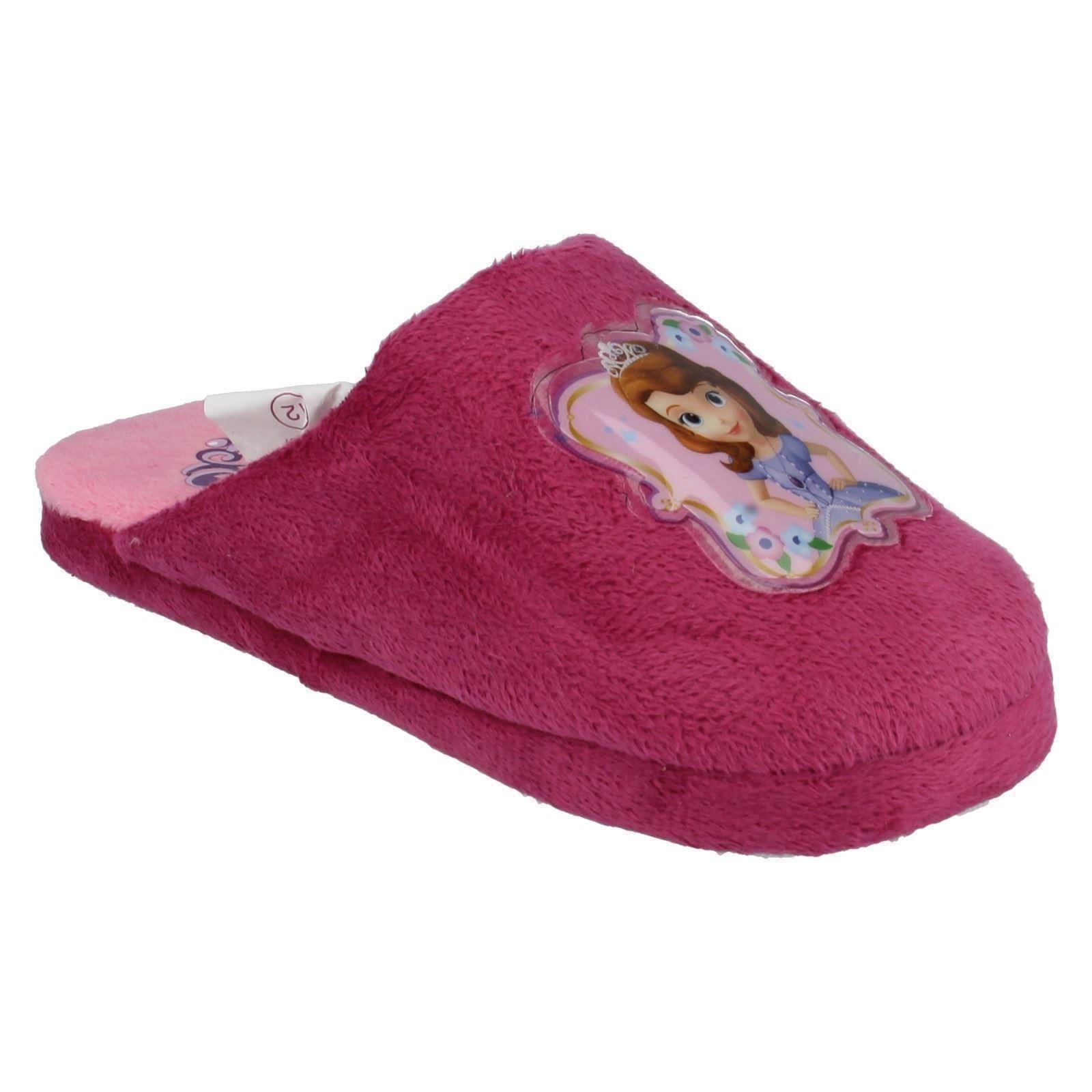 Chicas Disney Princesa Sofía La Primera Zapatillas Estilo-wd8166