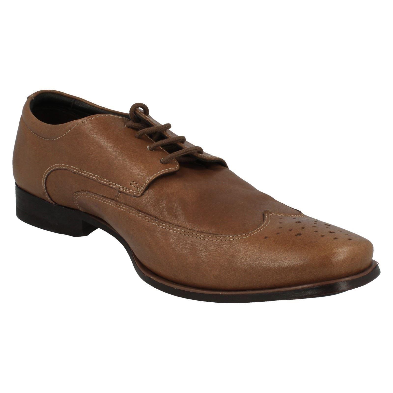 Para hombres Cuero Clarks Cordones Estilo Formal Zapatos Con Cordones Clarks De Ma Suave 605e83