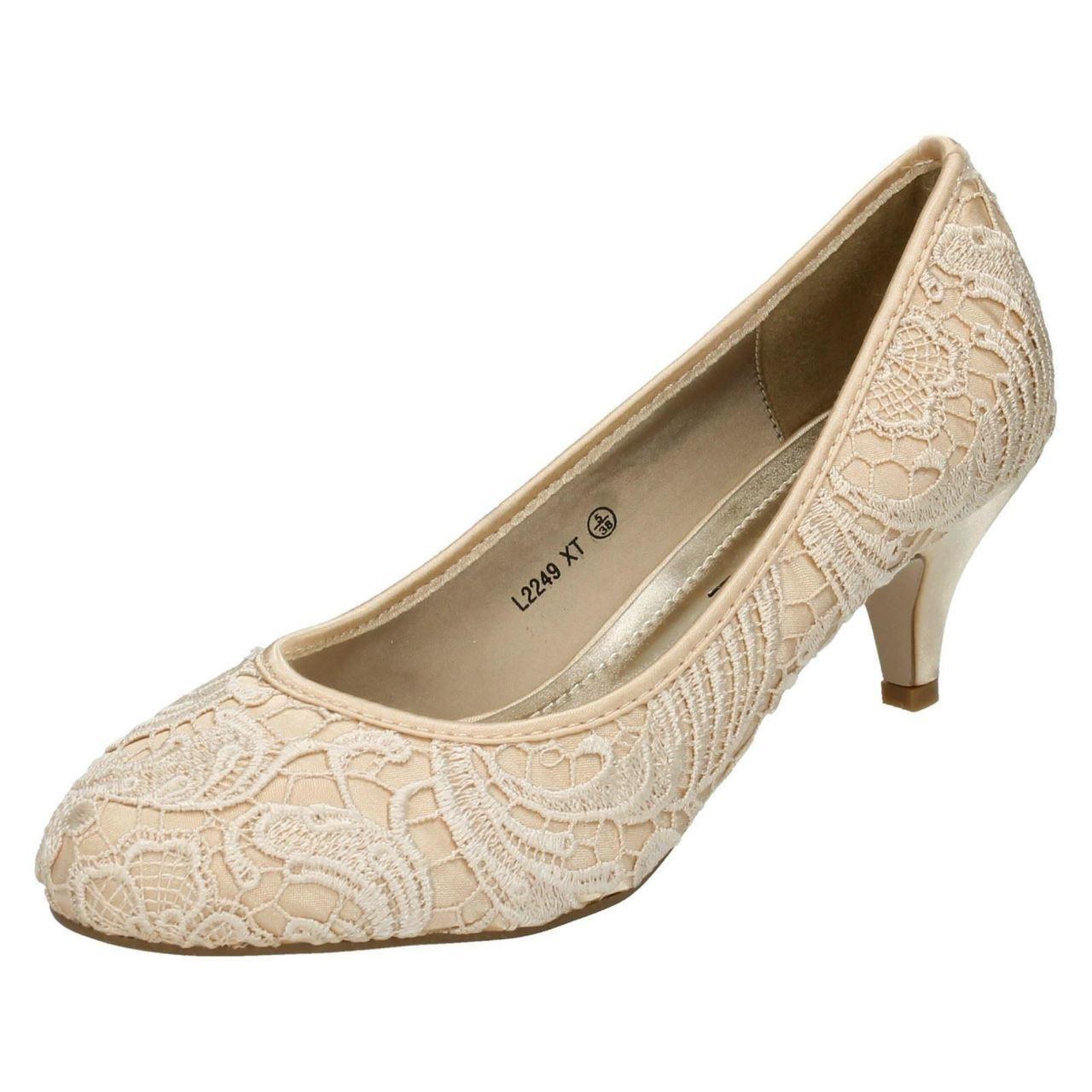 Damas Anne Michelle L2249 Encaje Zapatos Estilo ~ K