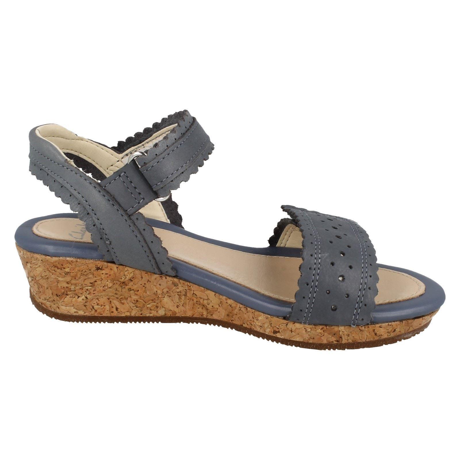 Girls Clarks Sandals Style - Harpy Myth