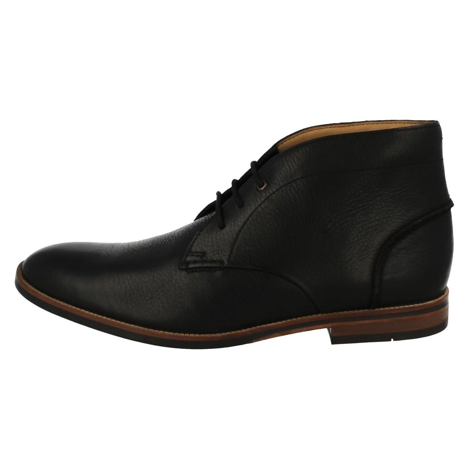Men's Clarks Smart Lace Broyd Up Ankle Boots Label - Broyd Lace Mid abd6e0