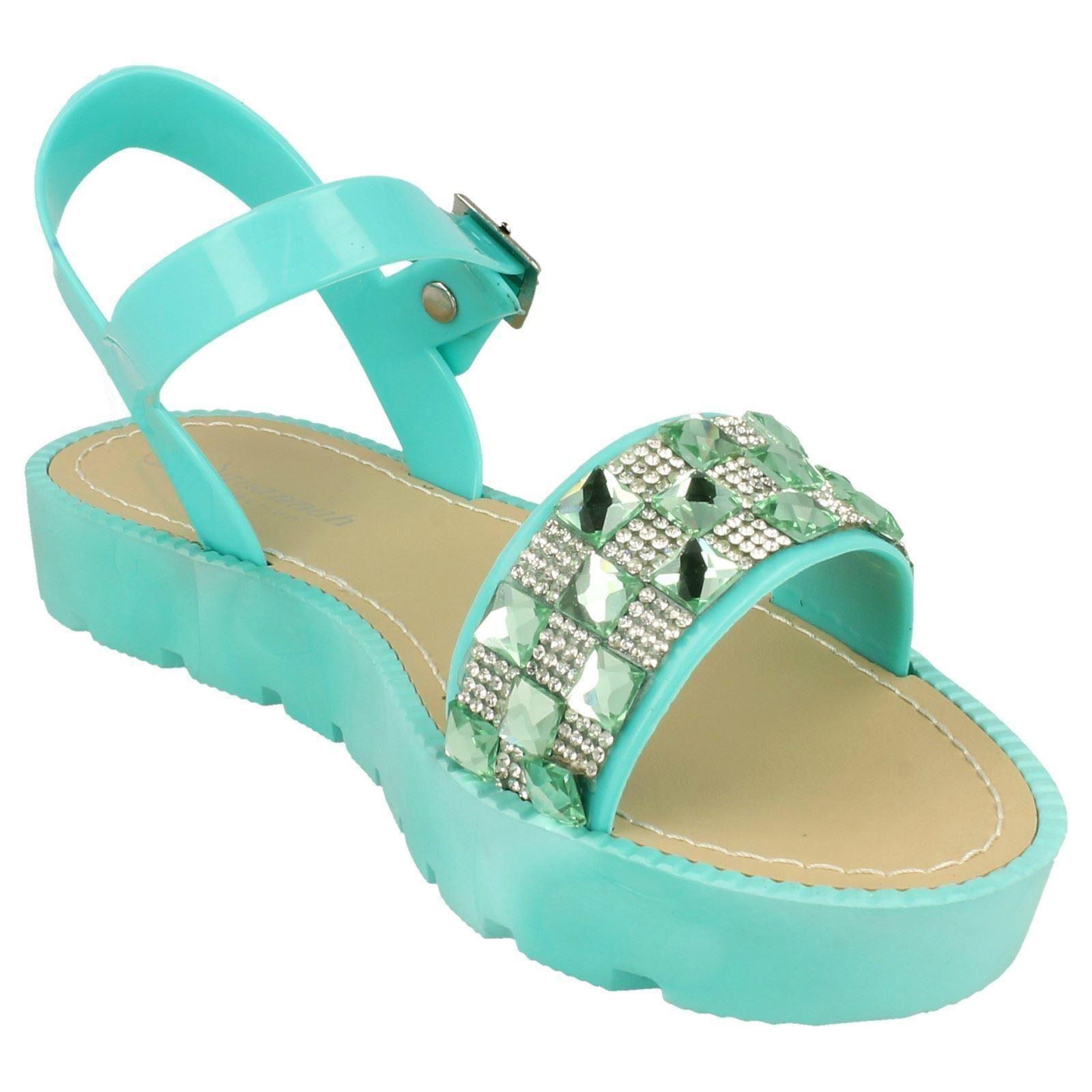 Sandalias de verano señoras Savannah Plataforma F0838 ~ K