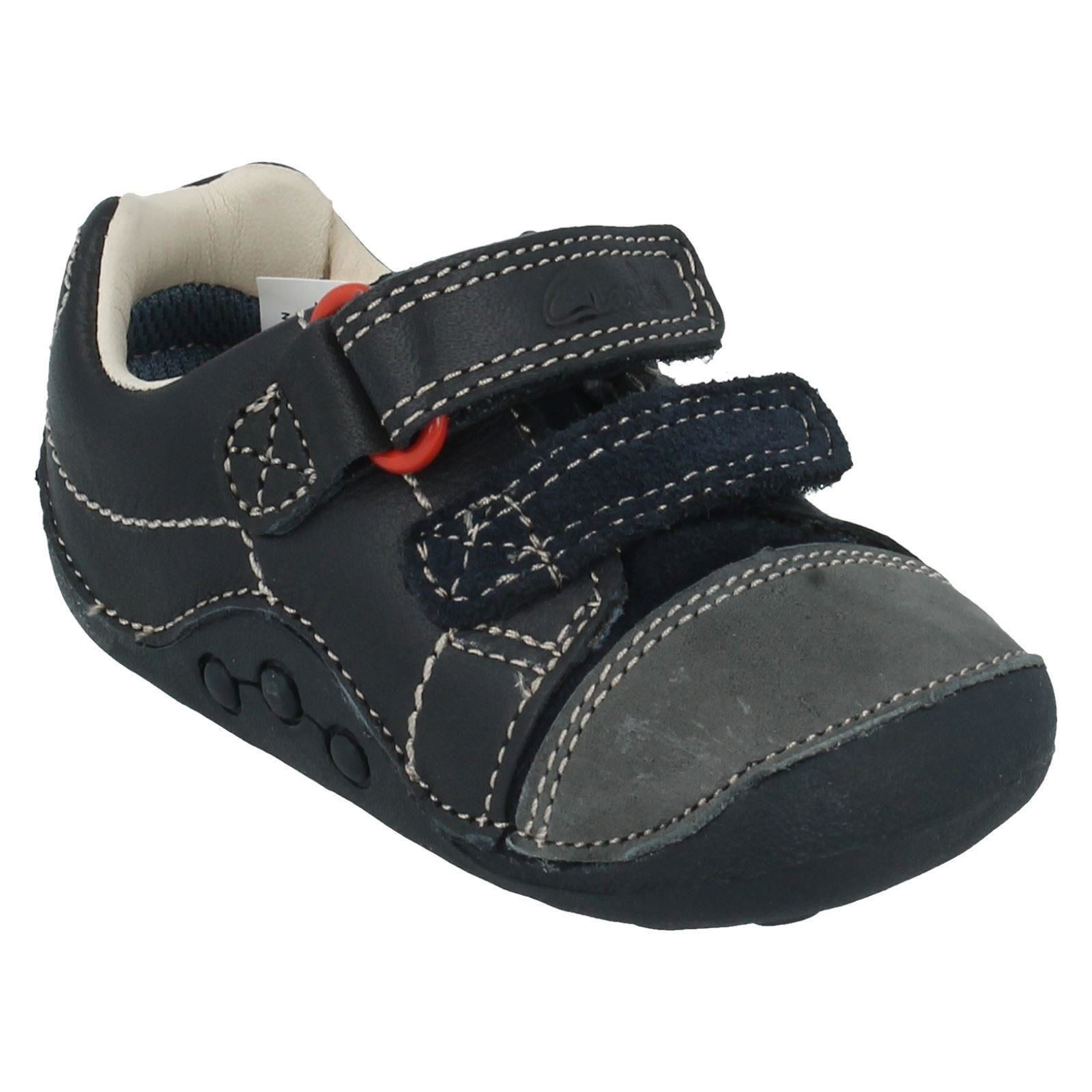 Boys Clarks First Shoes Style - Tiny Jet