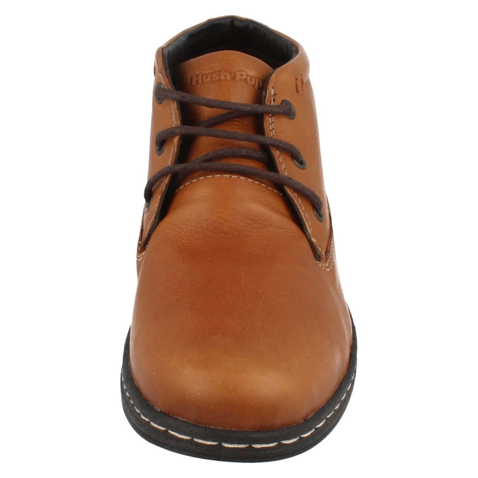 Hombre Hush Puppies Lace Up Ankle Ankle Ankle botas - Style Vice Victory ~ N 915419
