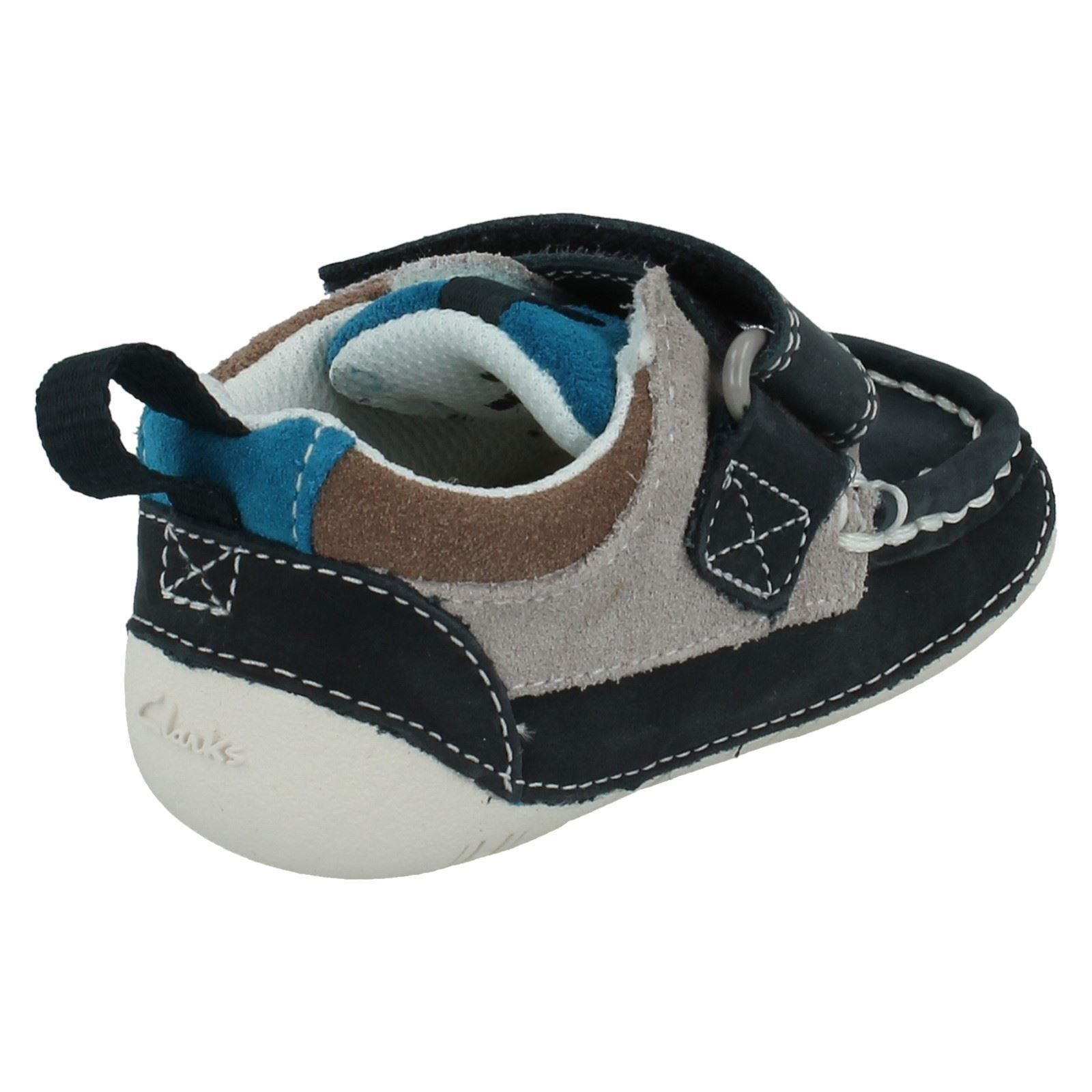Boys Clarks First Shoes Style - Cruiser Deck