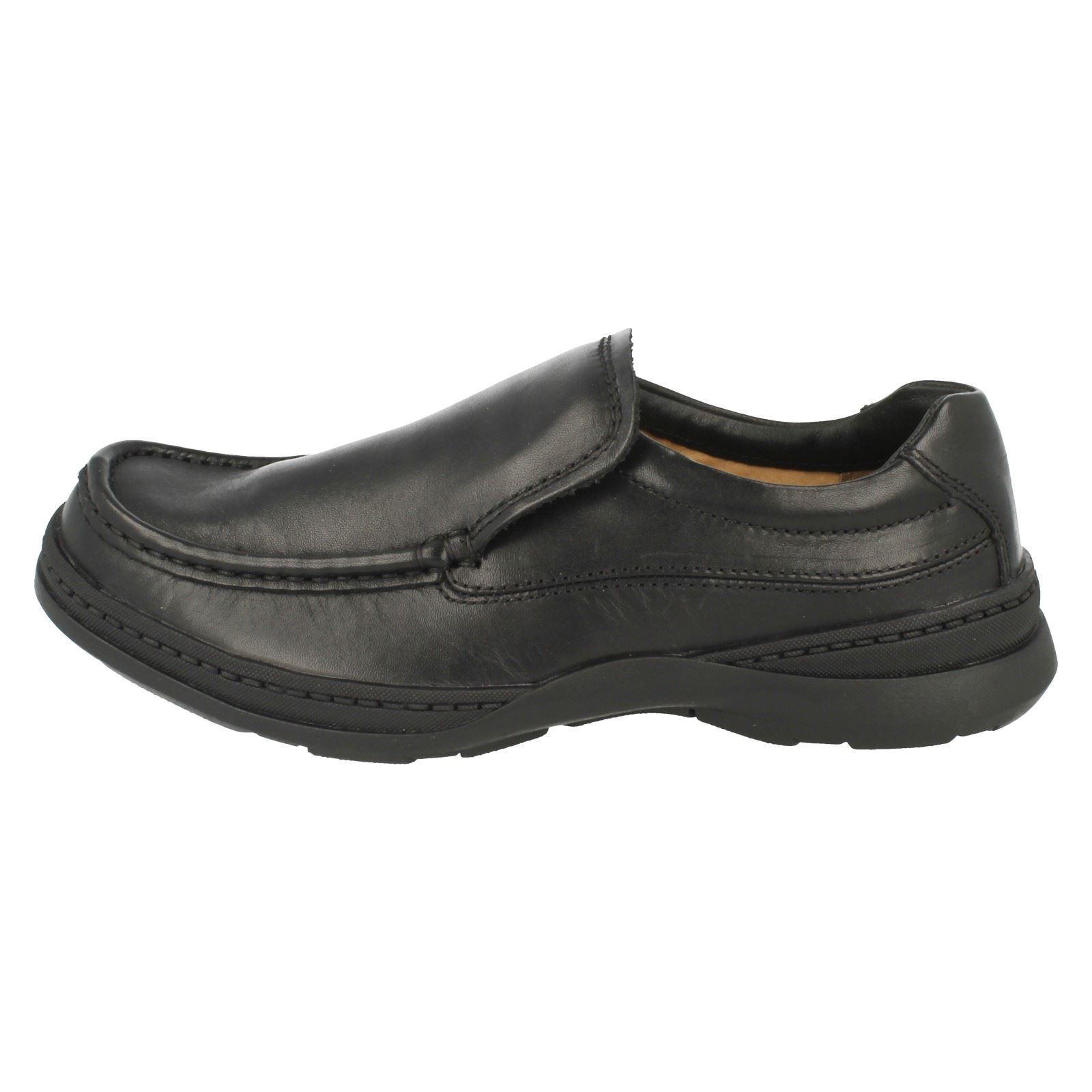 Para Hombre Clarks Zapatos Casuales Sin en la línea estilo del estilo línea libre 3cf16d