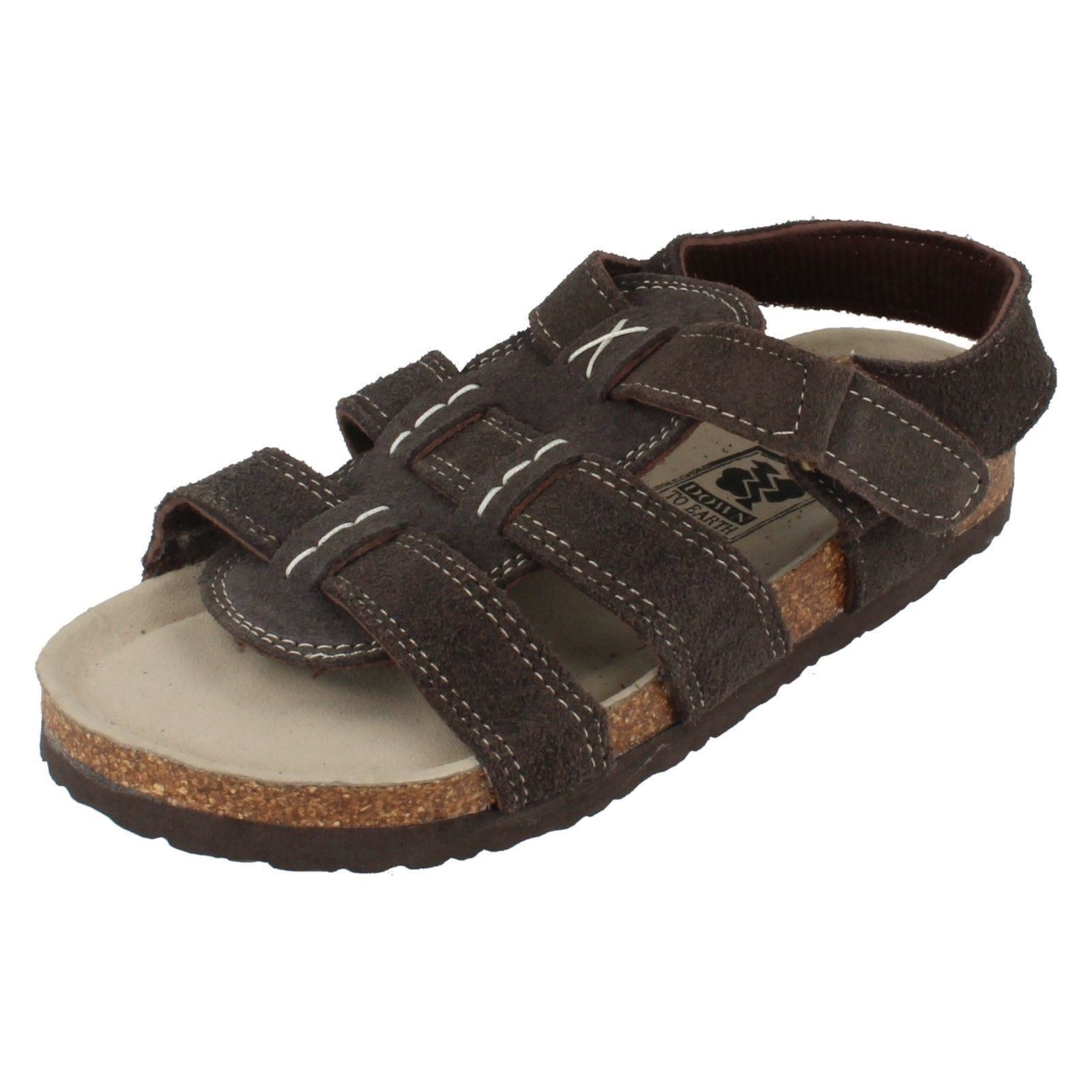 Boys Down To Earth Ripetape Strap Sandals Label N0005 ~ N