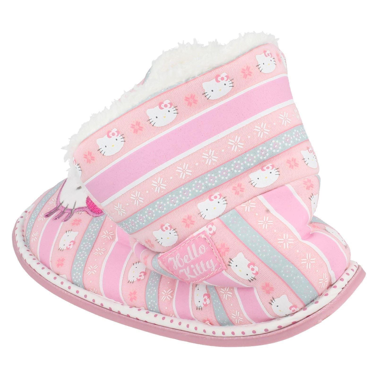 Niñas Hello Kitty Zapatillas Botas Estilo - 320 / 3193