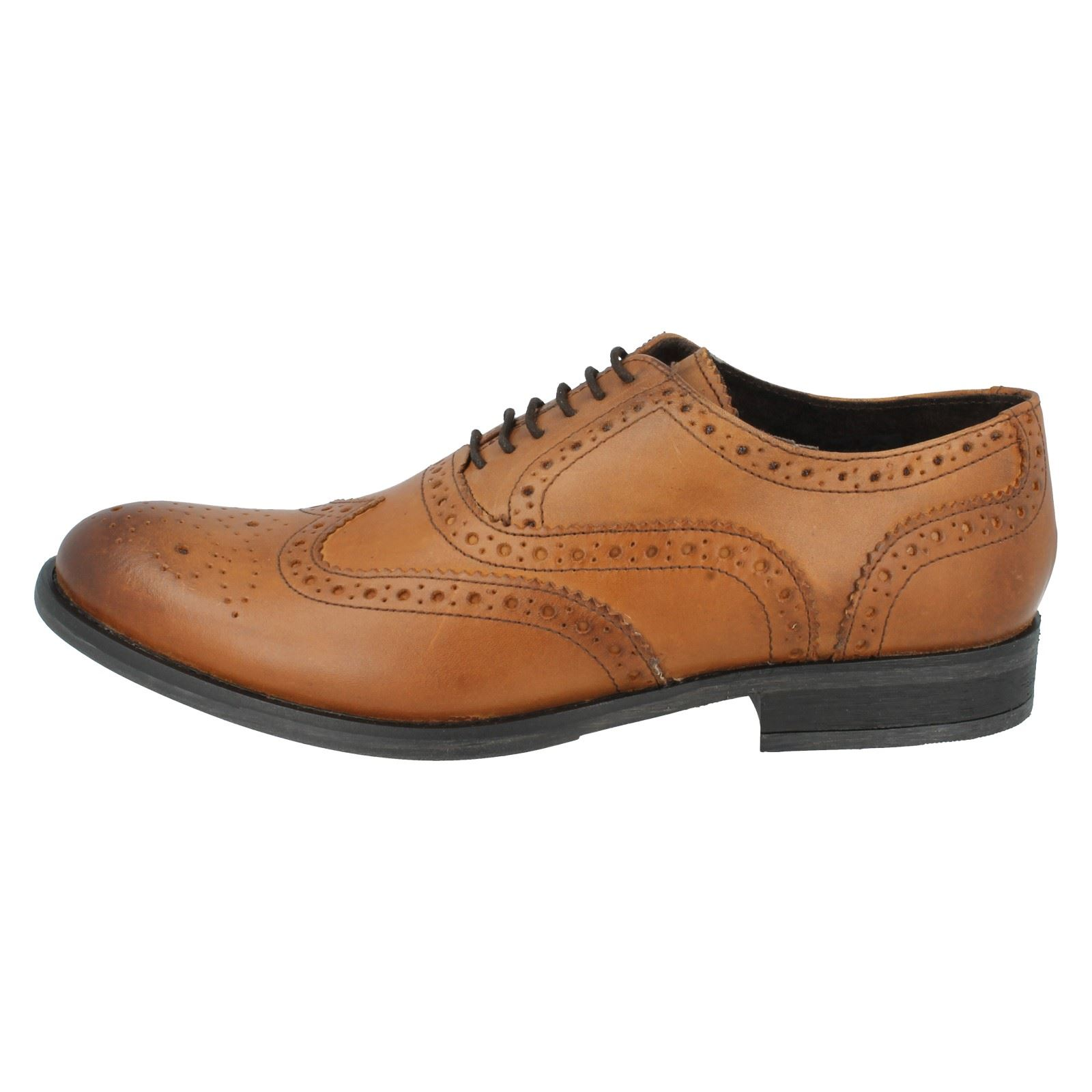 Mens Base London Formal Shoes Style - Walnut MTO